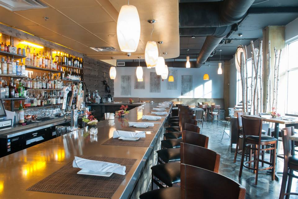 The dining room at Twisted Soul Cookhouse & Pours