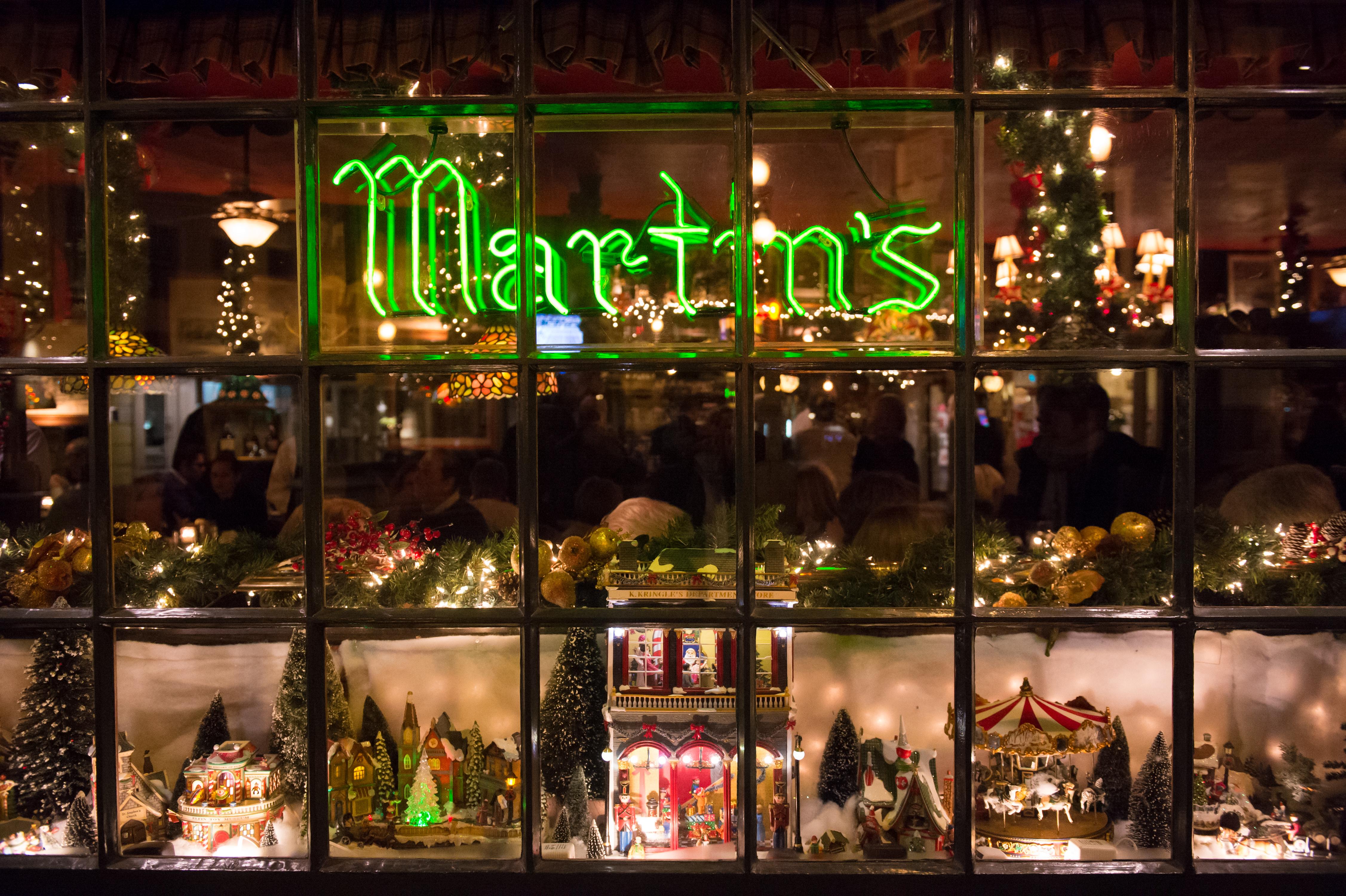 WASHINGTON, DC - NOVEMBER 21: Martin's Tavern is a local Georg