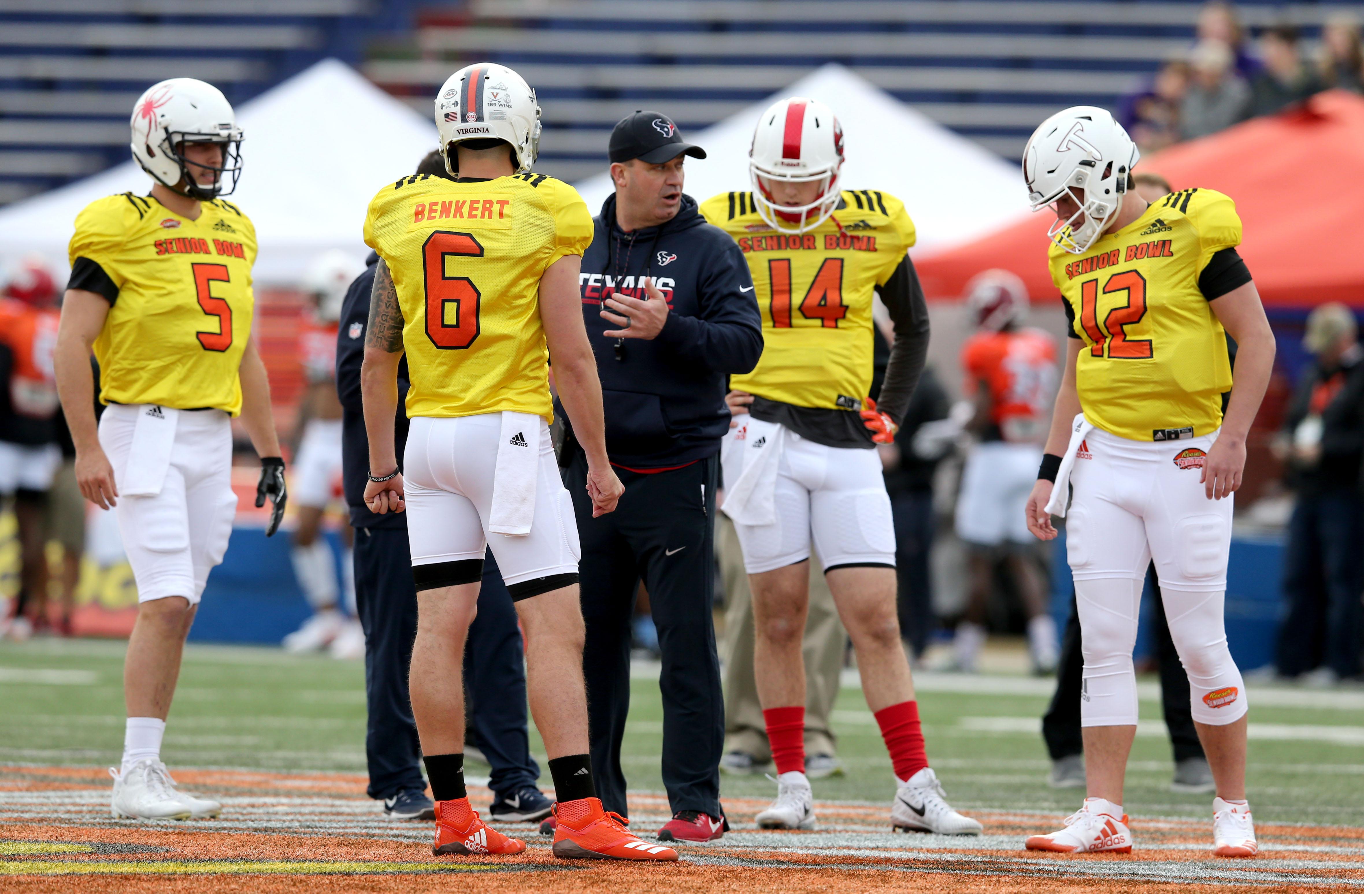 NCAA Football: Senior Bowl-South Practice