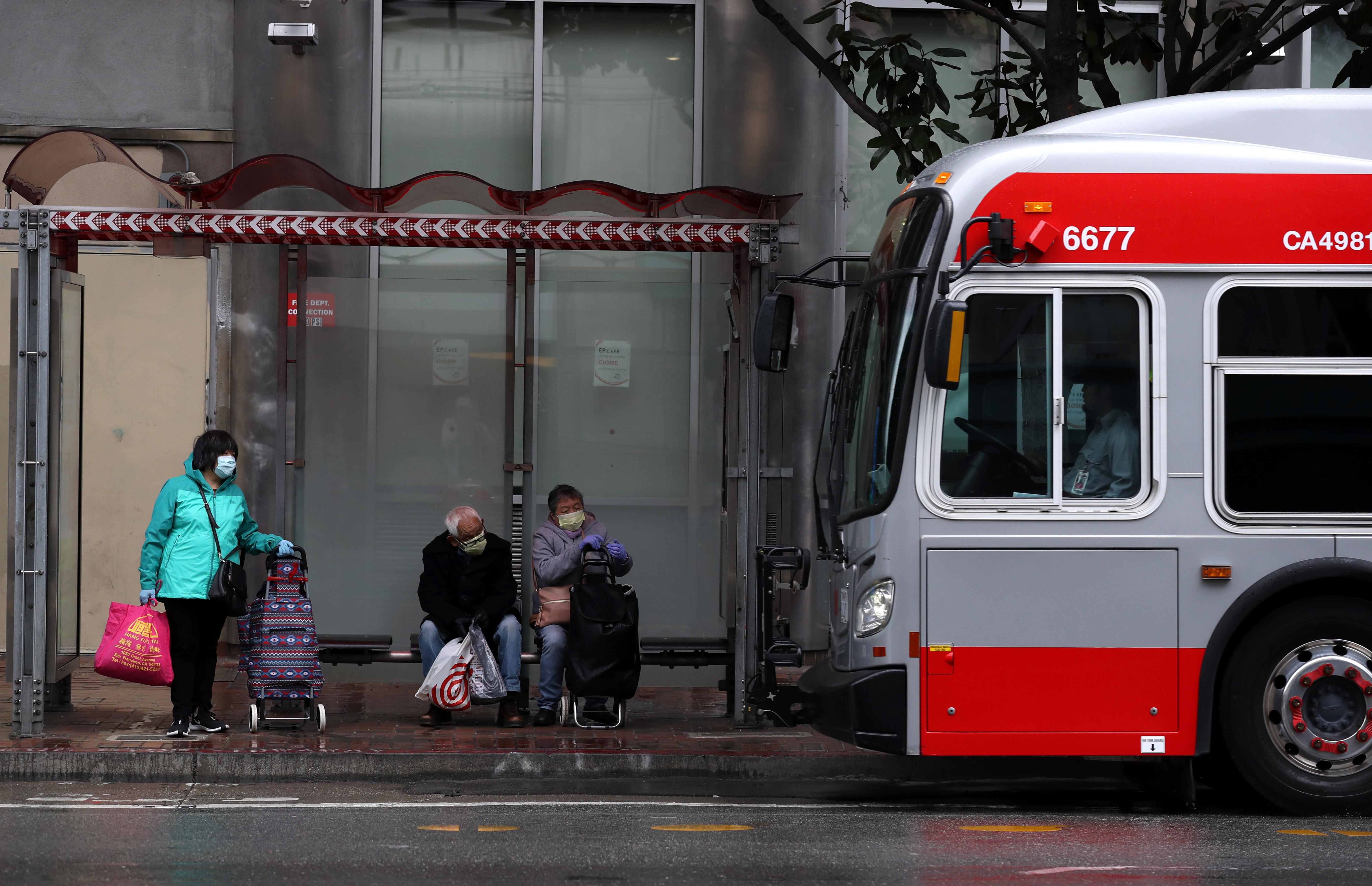 San Francisco's Muni To Cut Majority Of Service During Coronavirus Shutdown