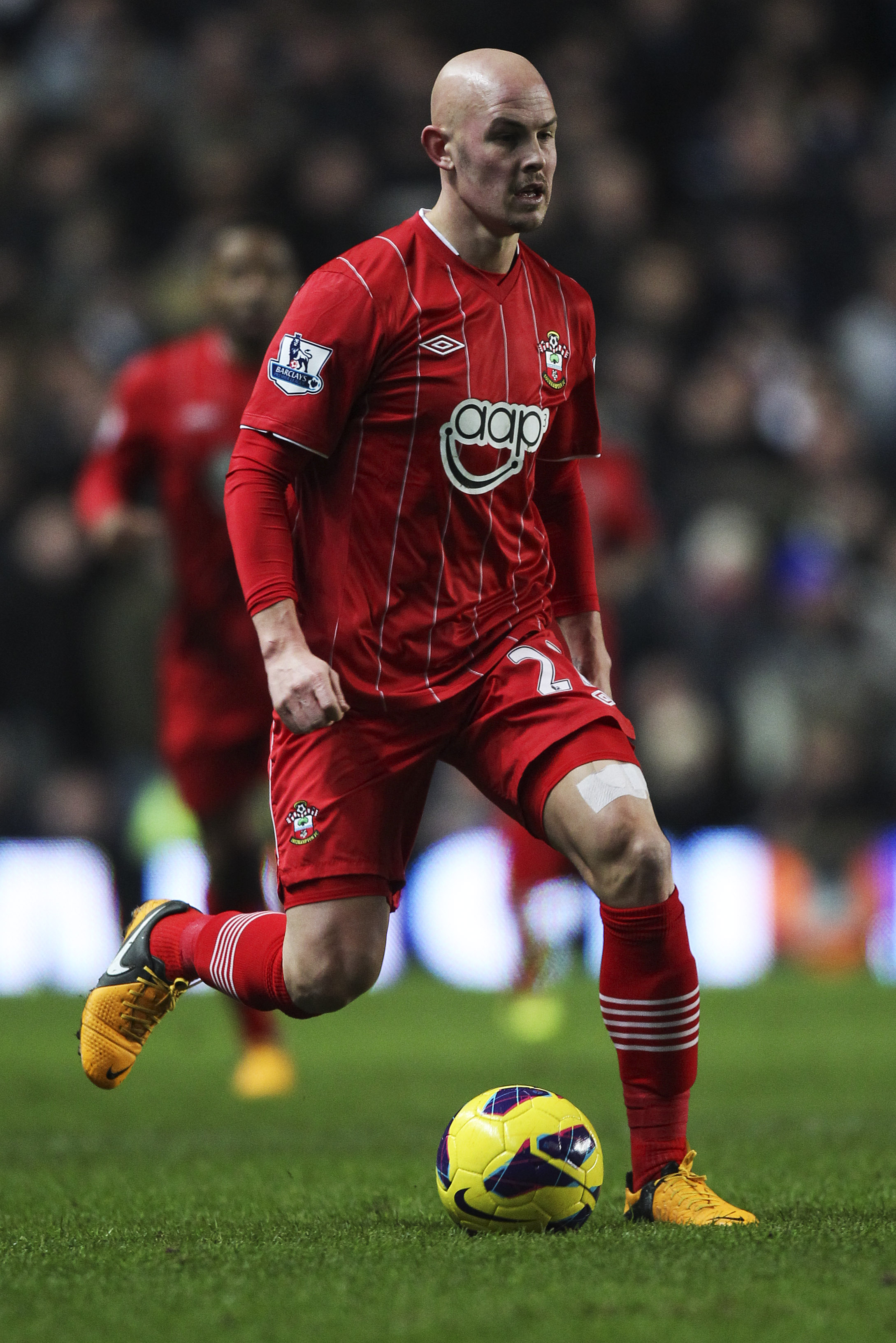 Richard Chaplow playing for Southampton in the Premier League against Chelsea thoughts on Saints manager Mauricio Pochettino and Nigel Adkins.