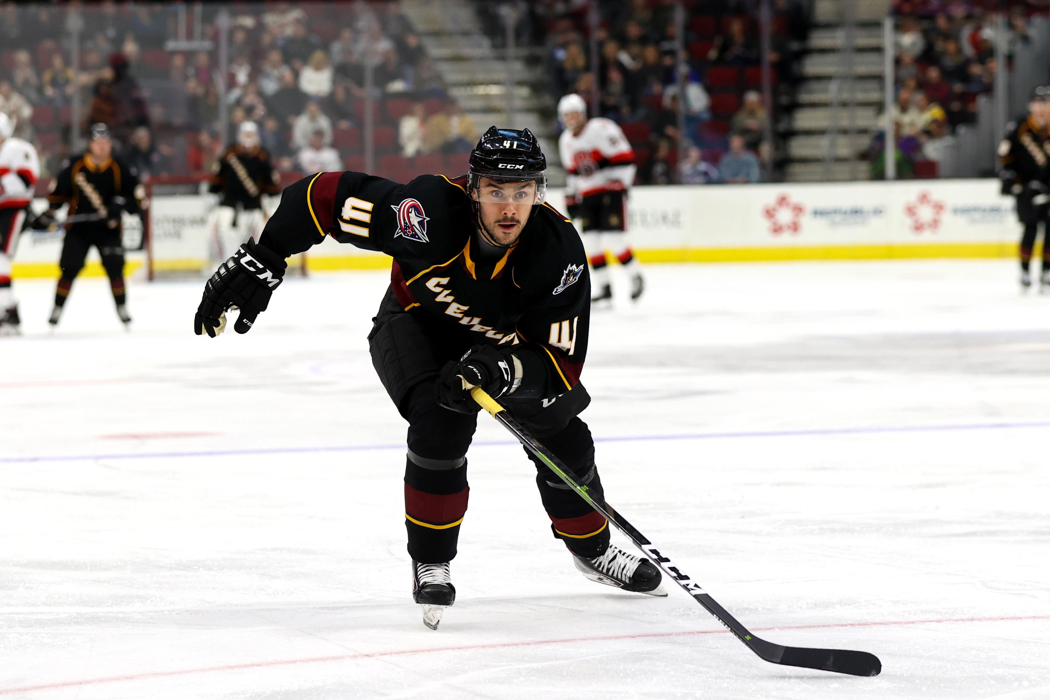 AHL: FEB 29 Belleville Senators at Cleveland Monsters