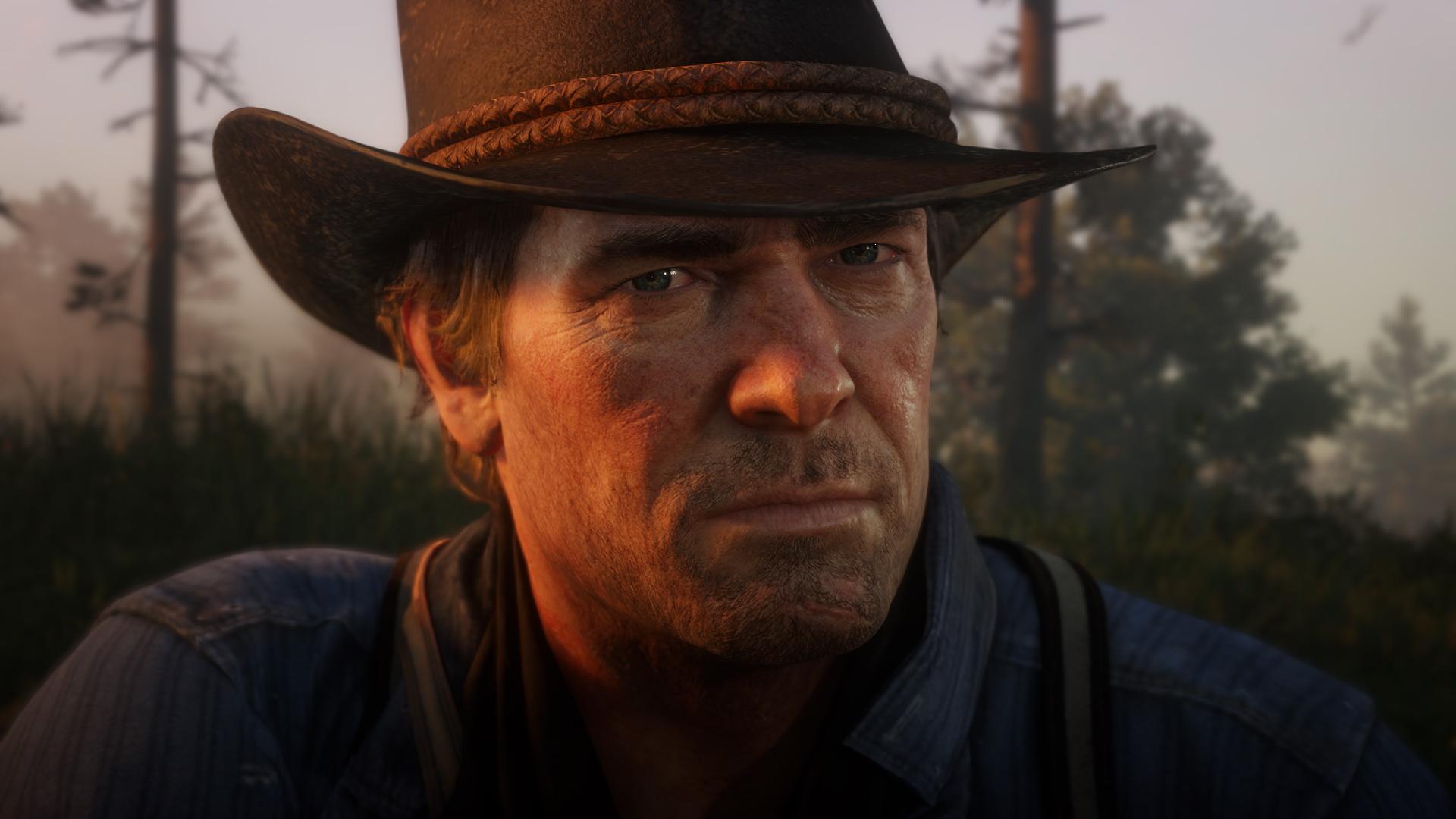 Red Dead Redemption 2 - Arthur Morgan close-up