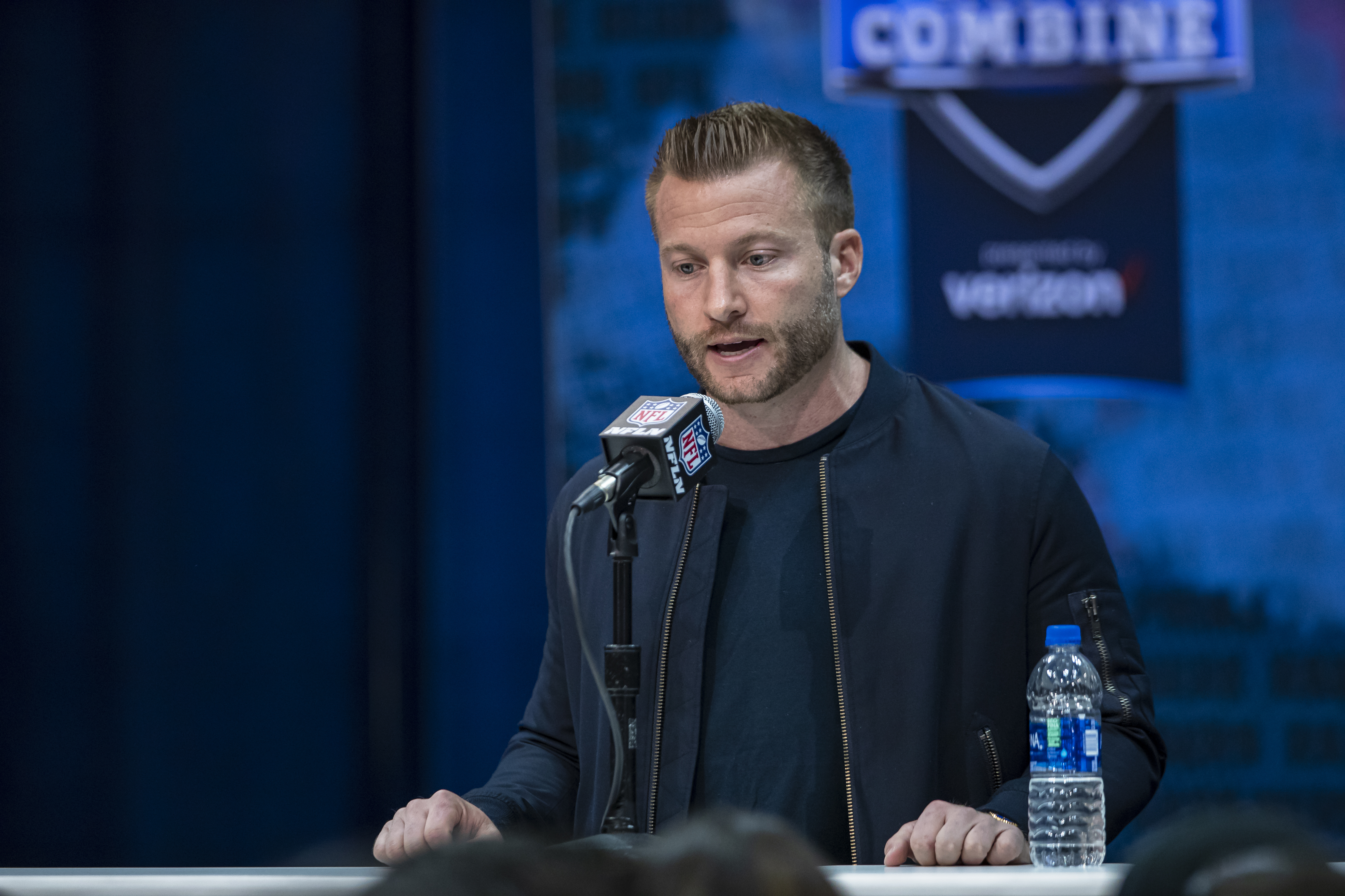 NFL Combine Sean McVay Los Angeles Rams