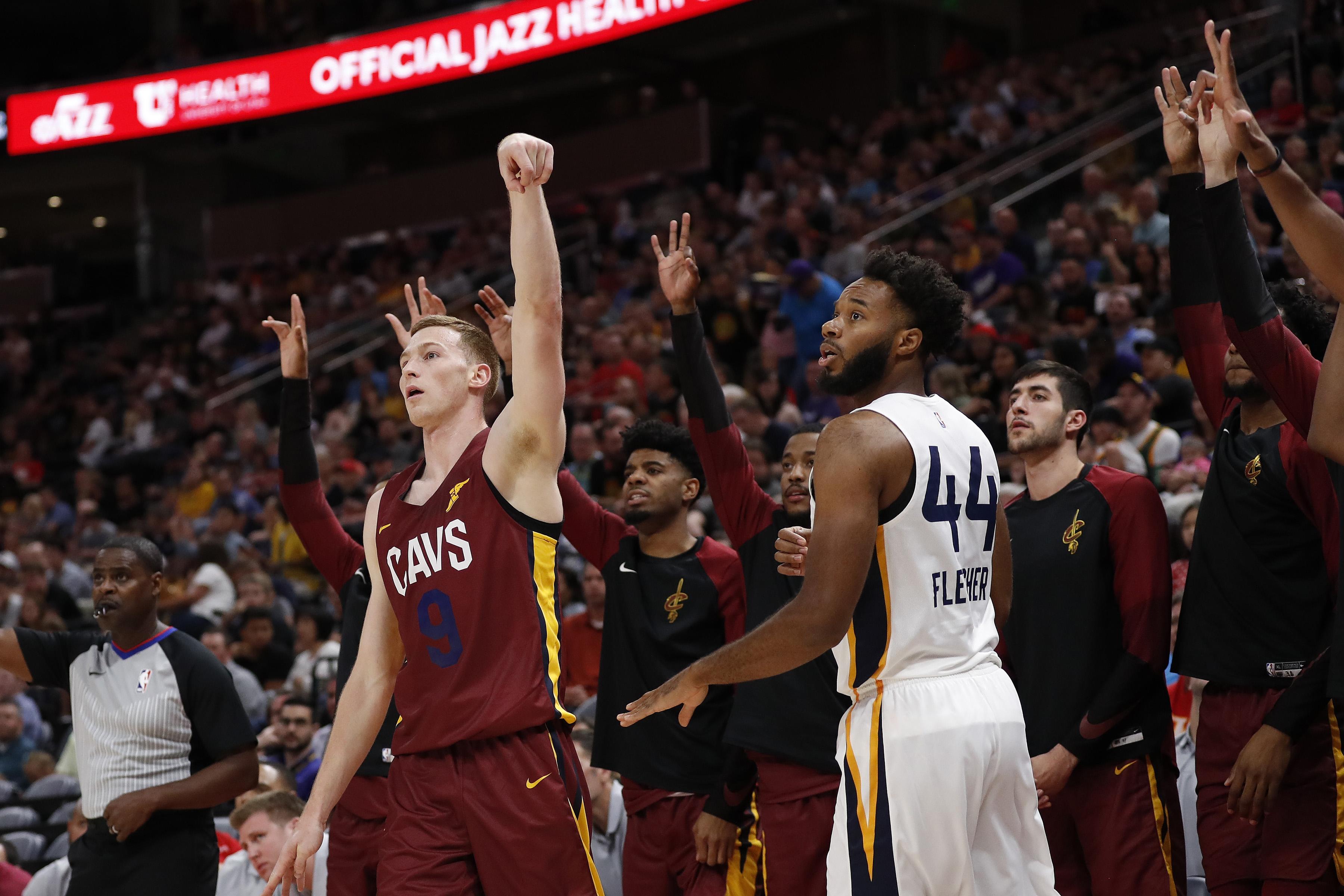 NBA: Utah Summer League-Cleveland Cavaliers at Utah Jazz