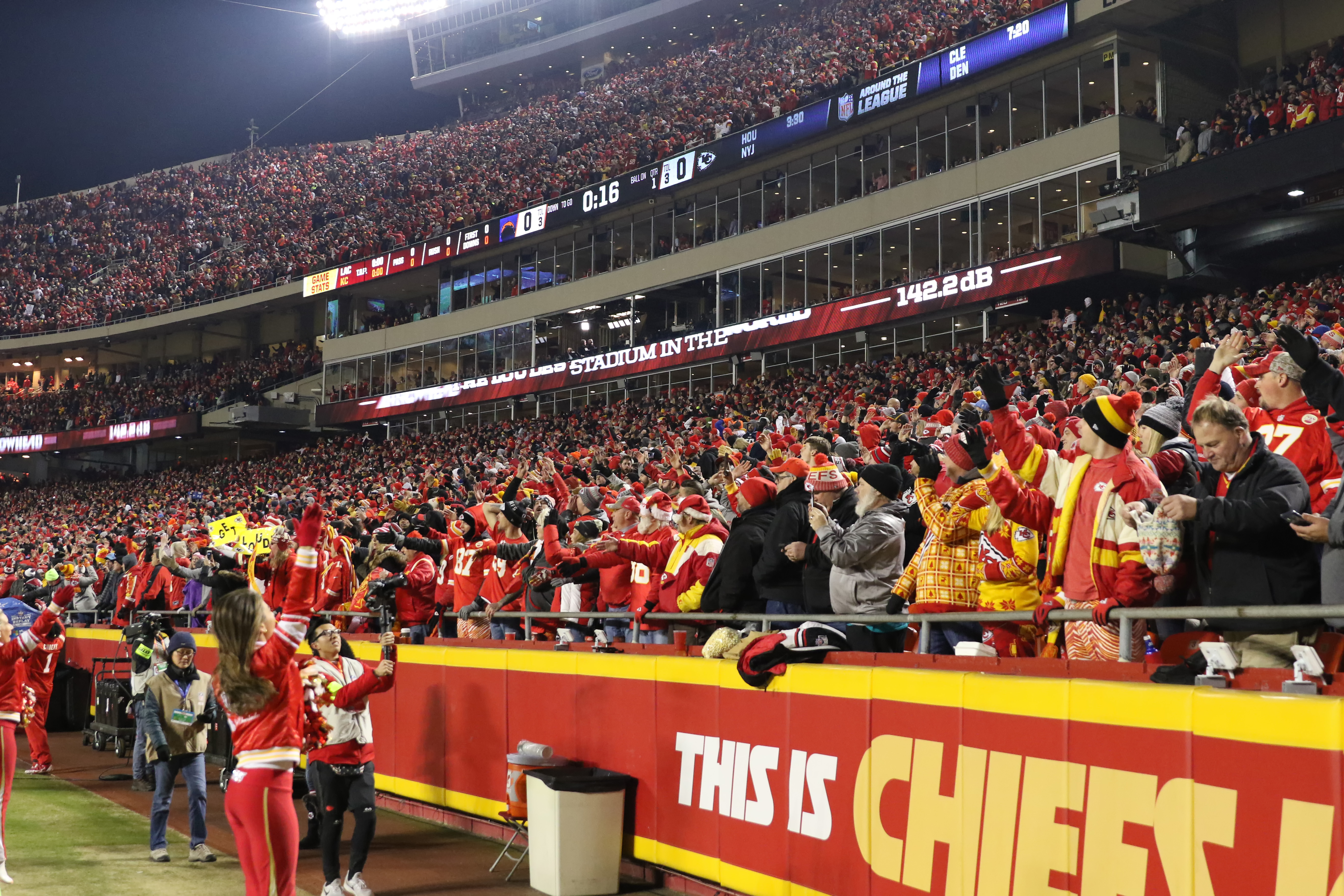 NFL: DEC 13 Chargers at Chiefs