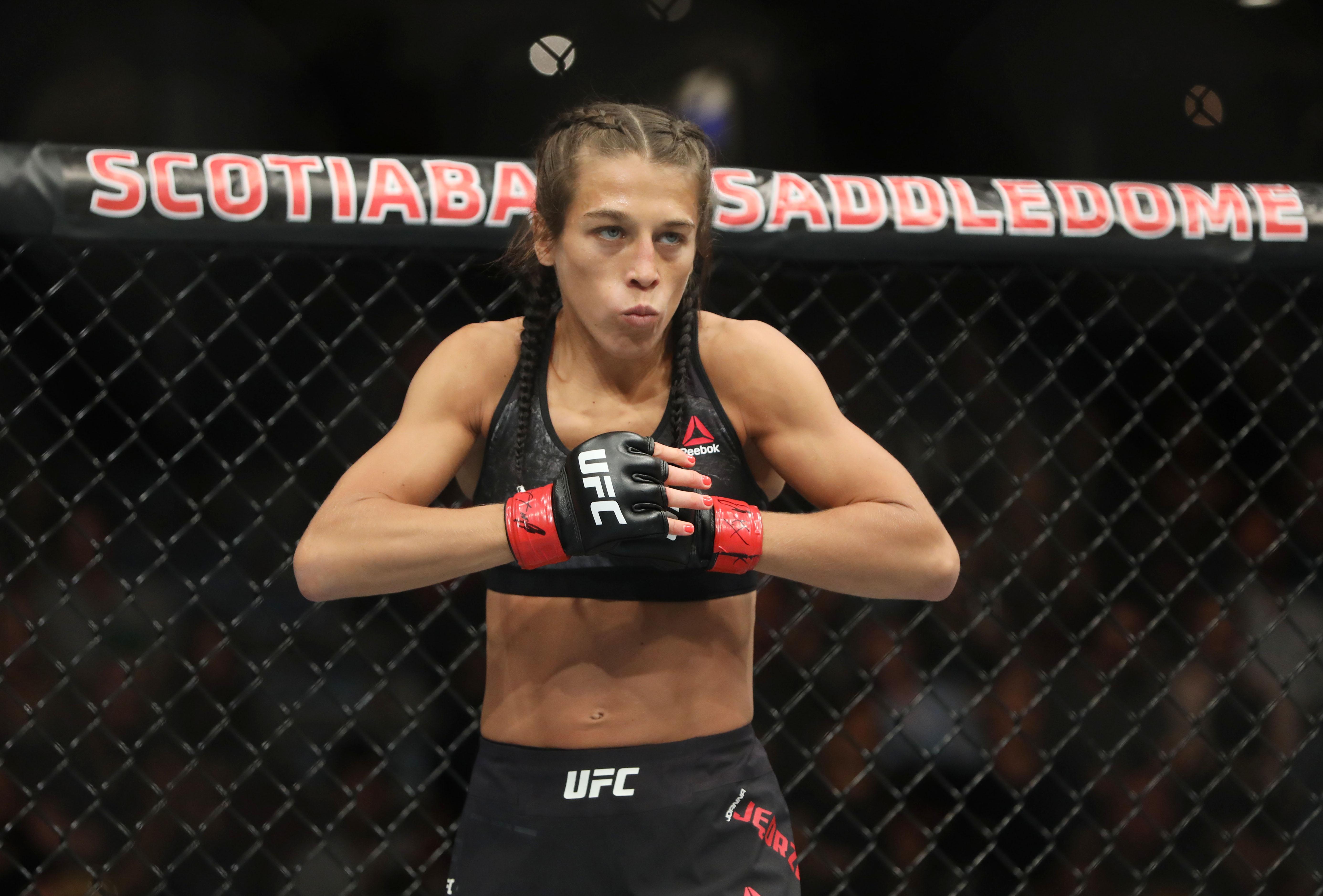 MMA: UFC Fight Night-Calgary-Jedrzejczyk vs Torres