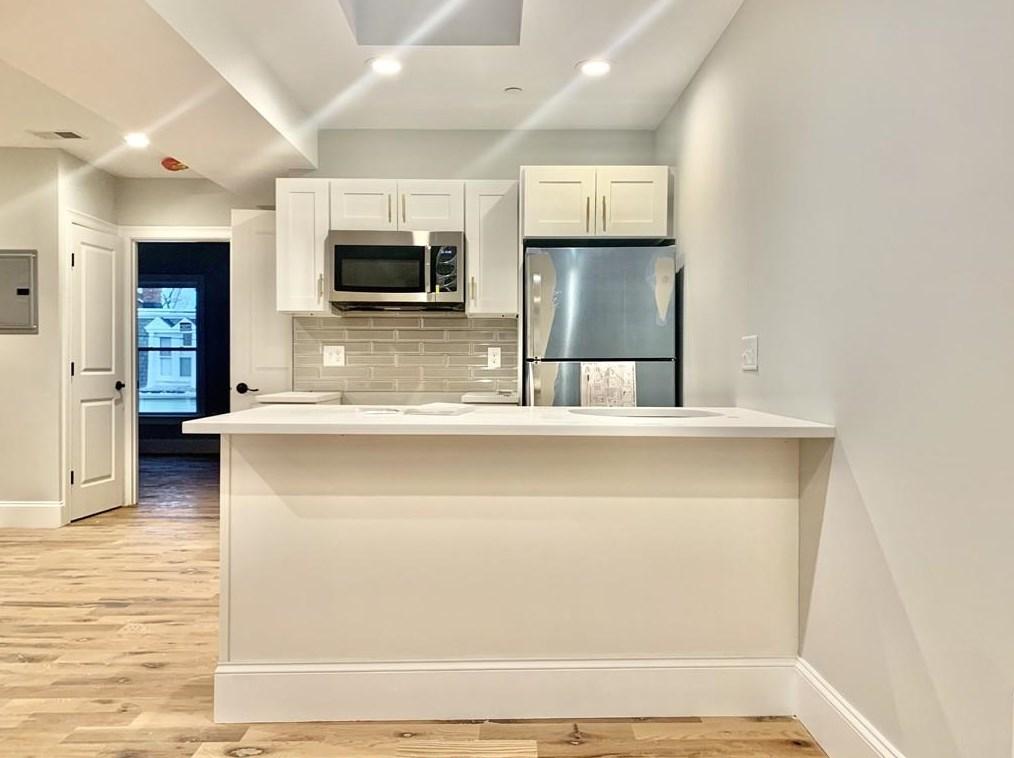 A new kitchen.