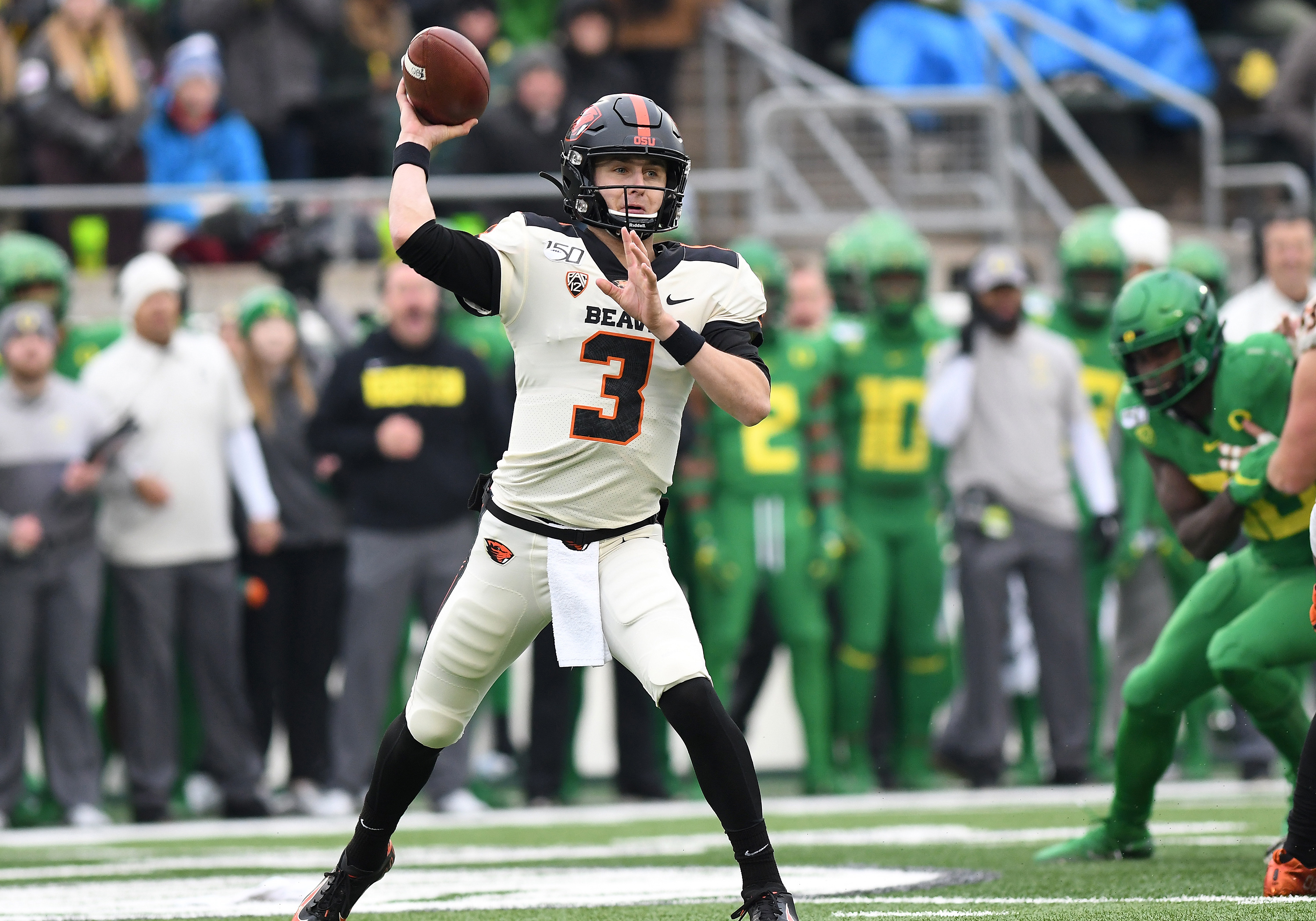 COLLEGE FOOTBALL: NOV 30 Oregon State at Oregon