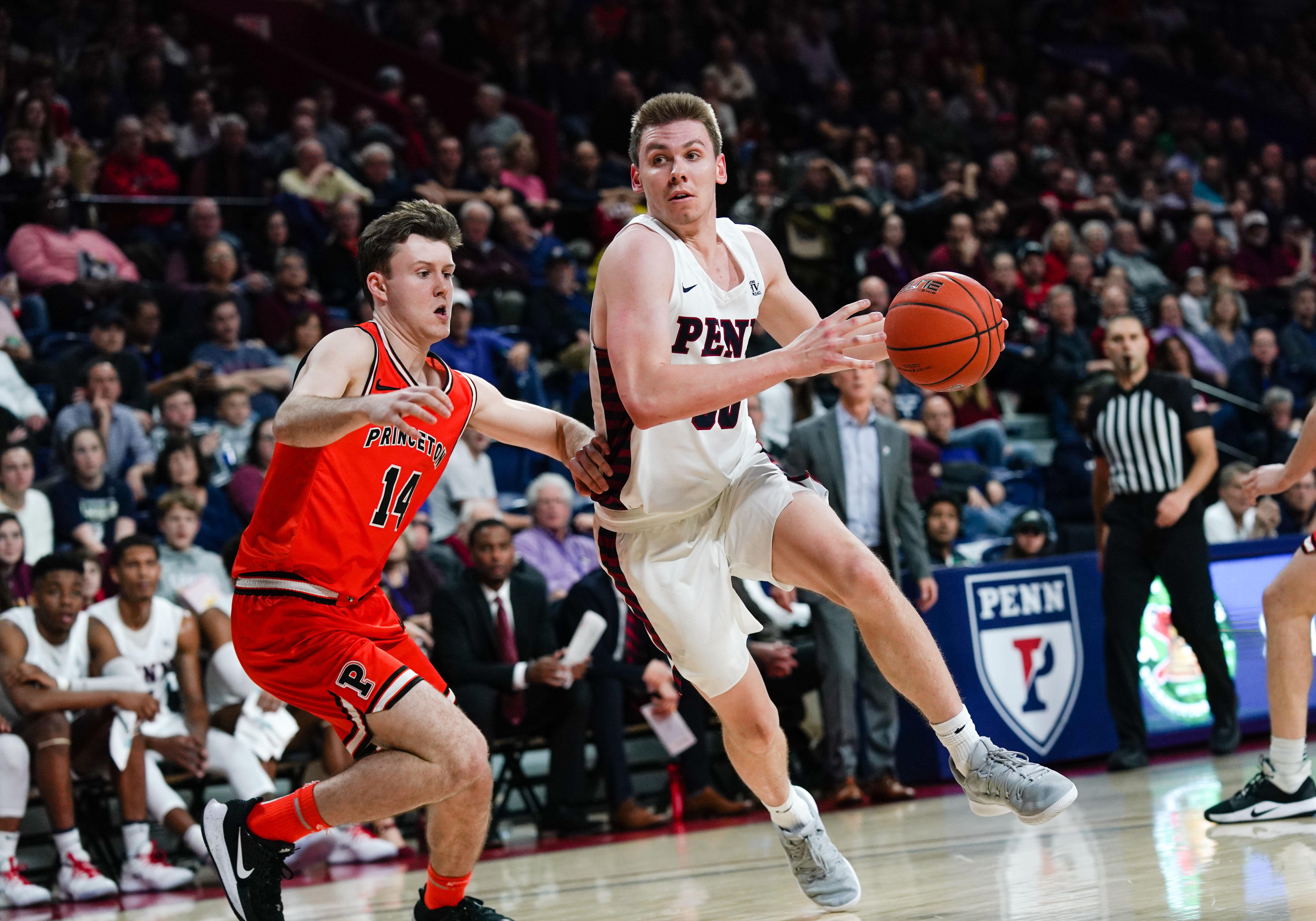 COLLEGE BASKETBALL: JAN 04 Princeton at Penn