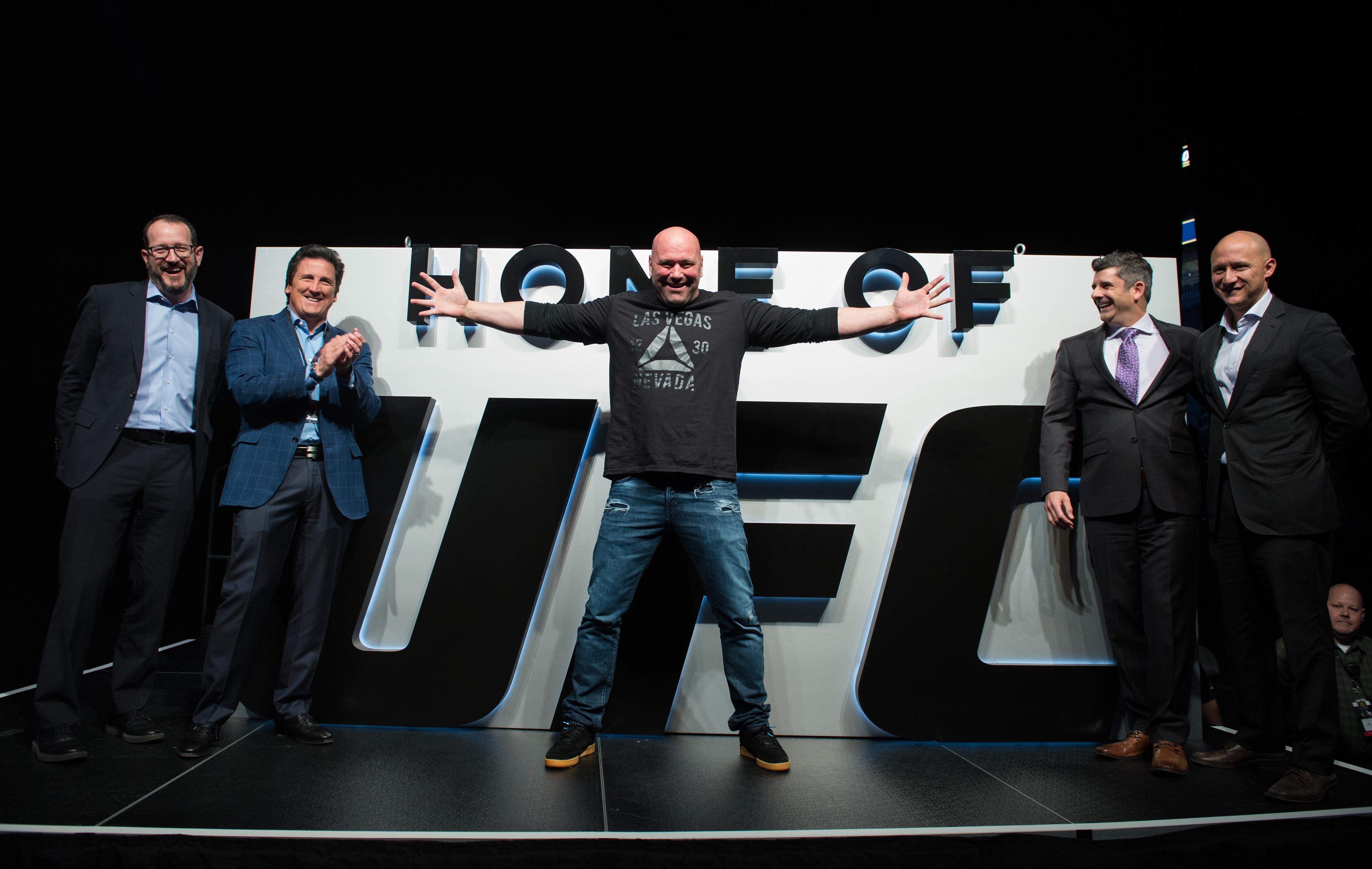 UFC: Bisping v St-Pierre Press Conference