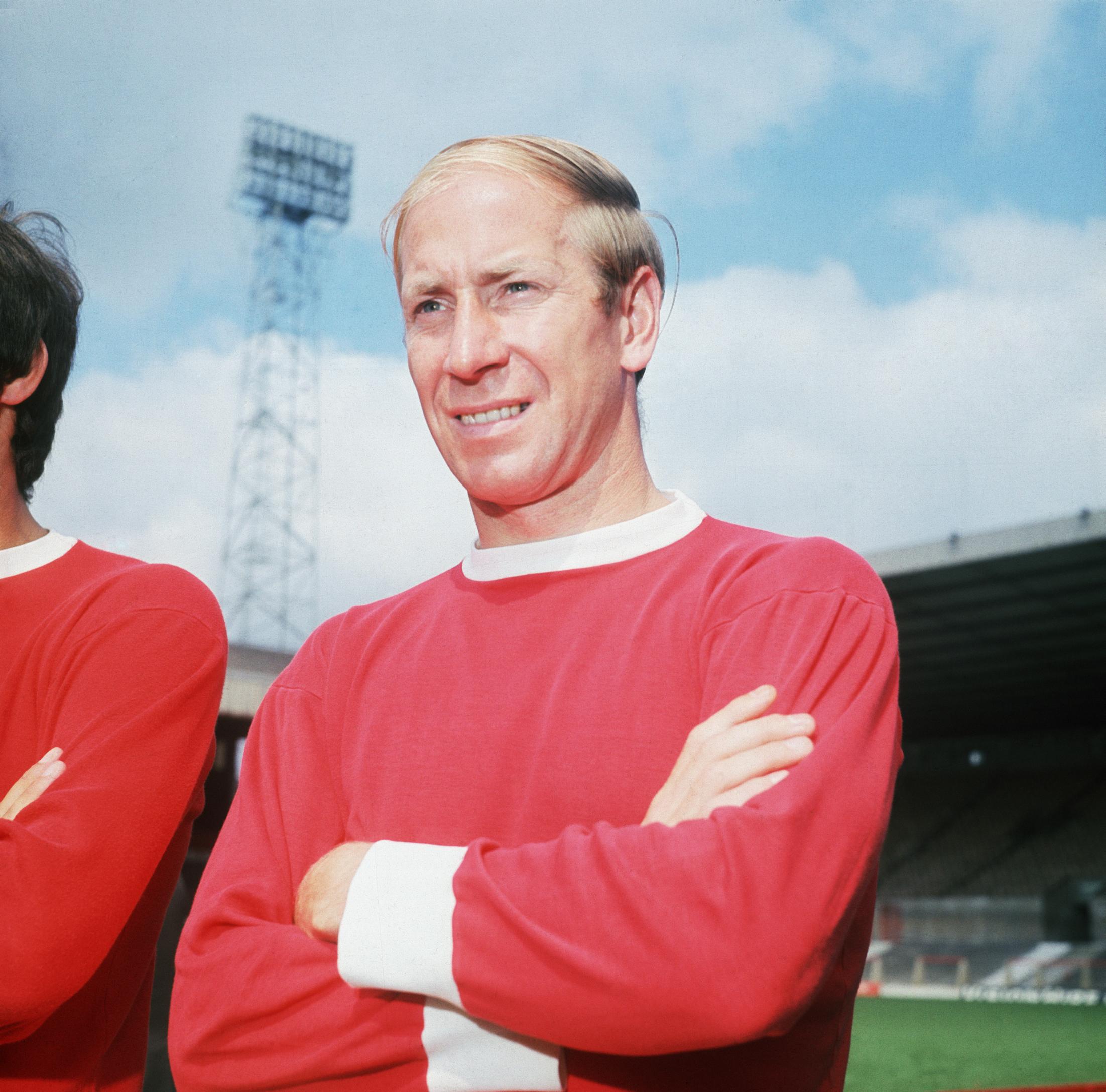 Manchester United Soccer Player Bobby Charlton