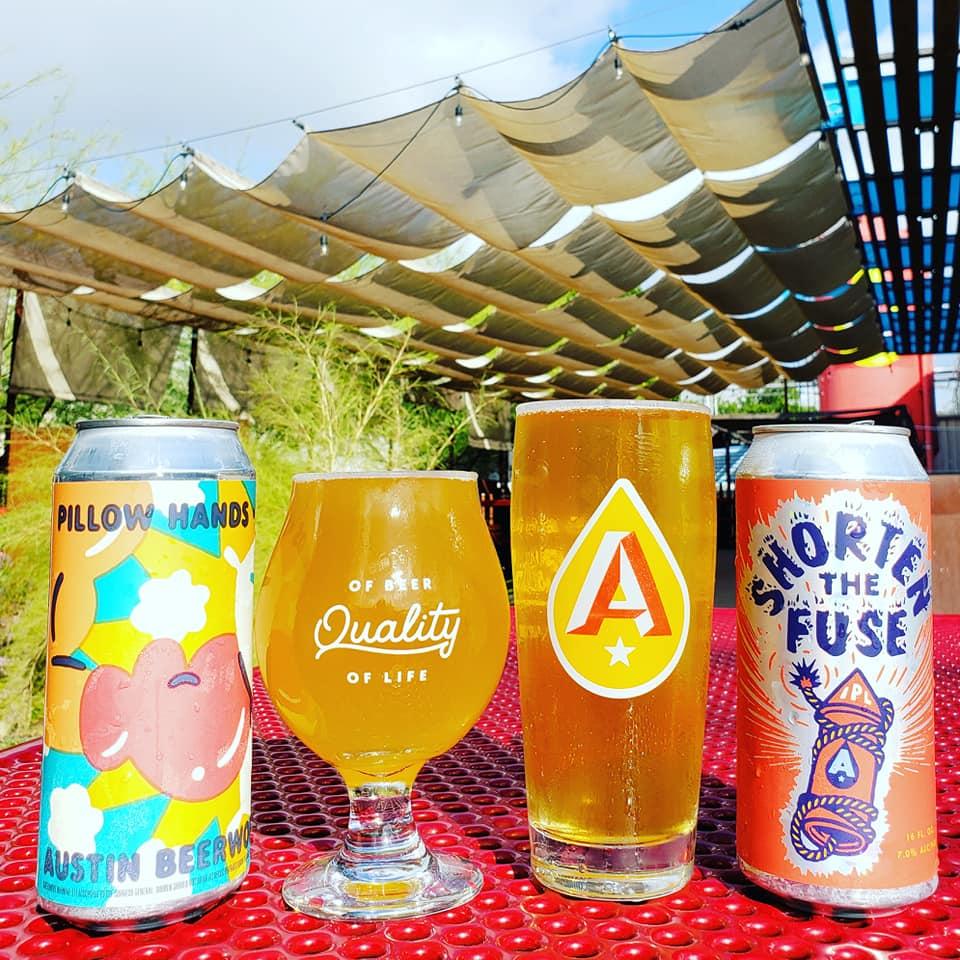 Beers from Austin Beerworks