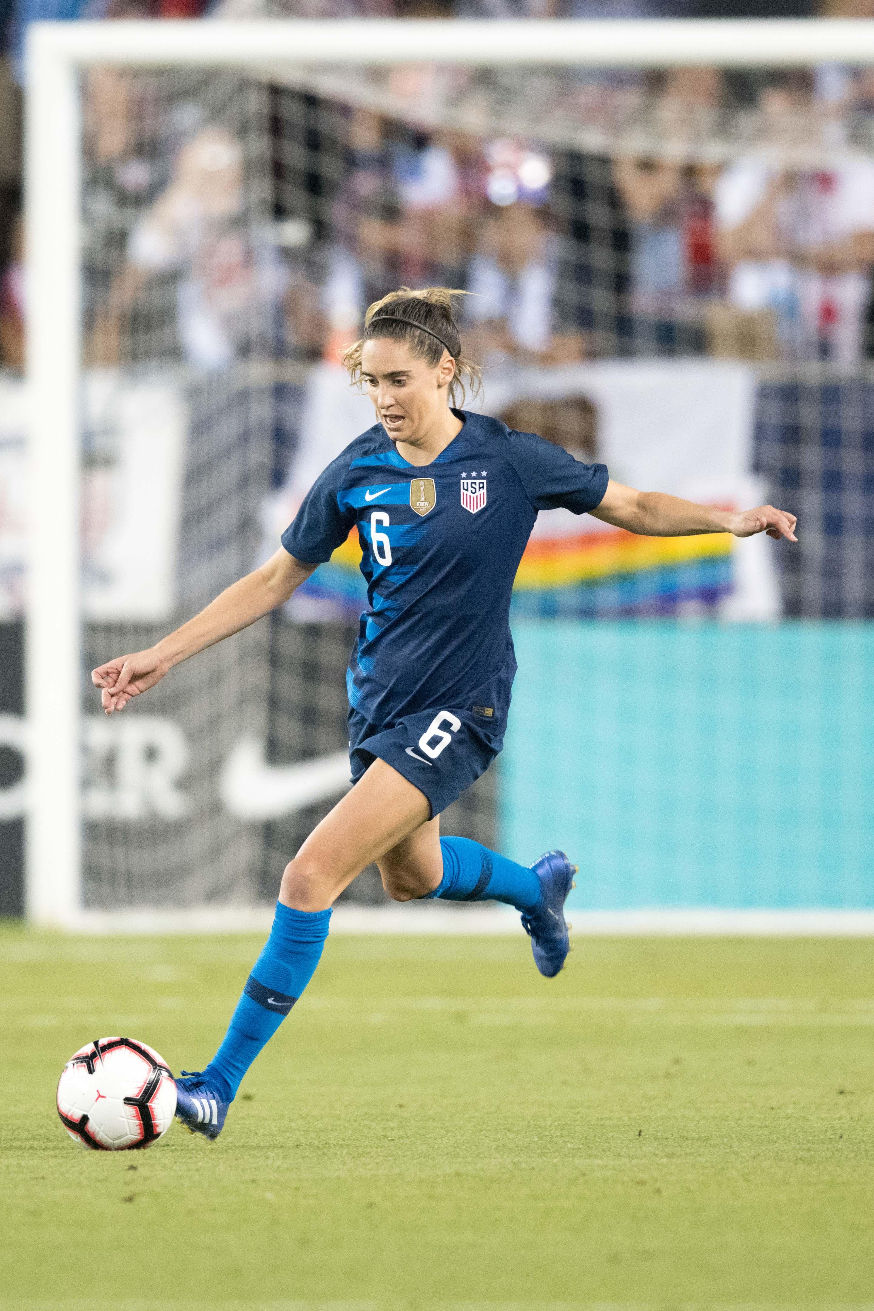 Soccer: International Friendly Women's Soccer-Chile at USA