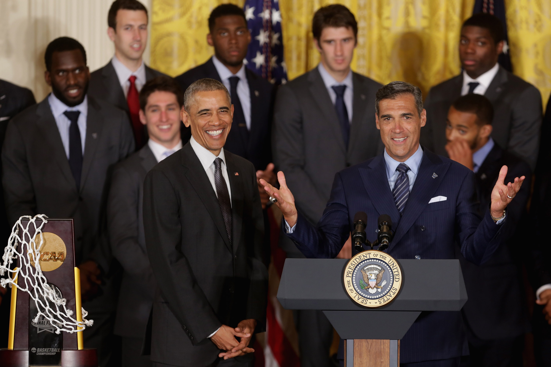 Obama Welcomes NCAA Champion Villanova Basketball Team To White House