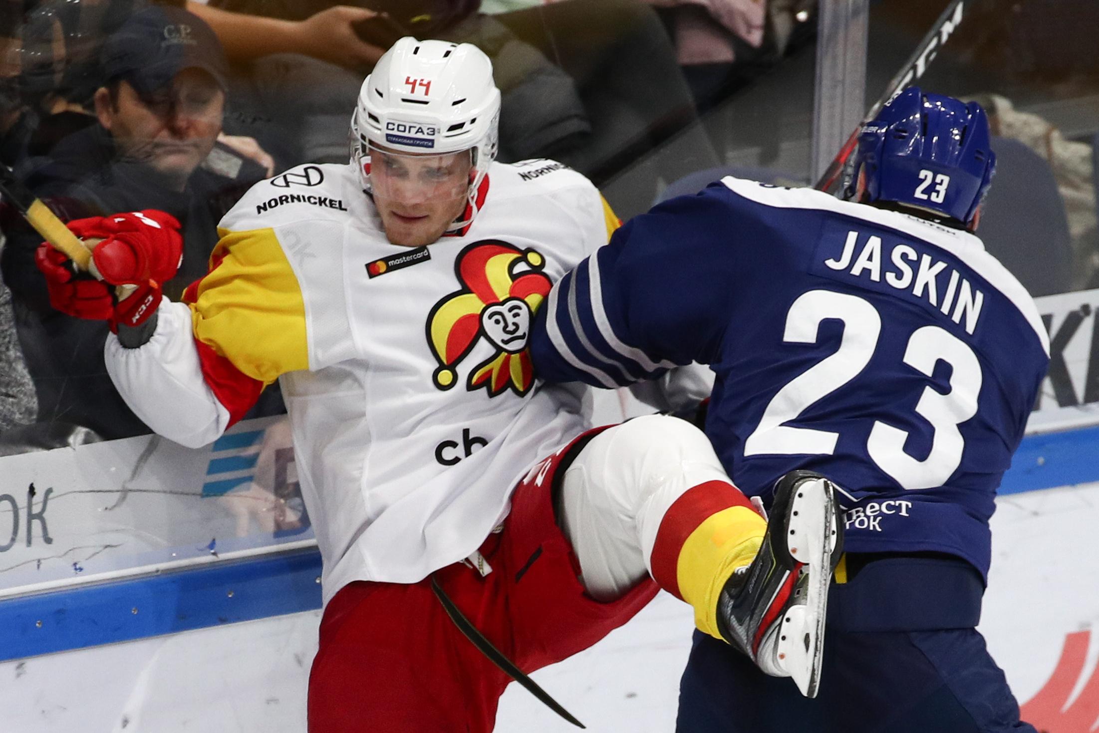 Kontinental Hockey League: Dynamo Moscow vs Jokerit Helsinki