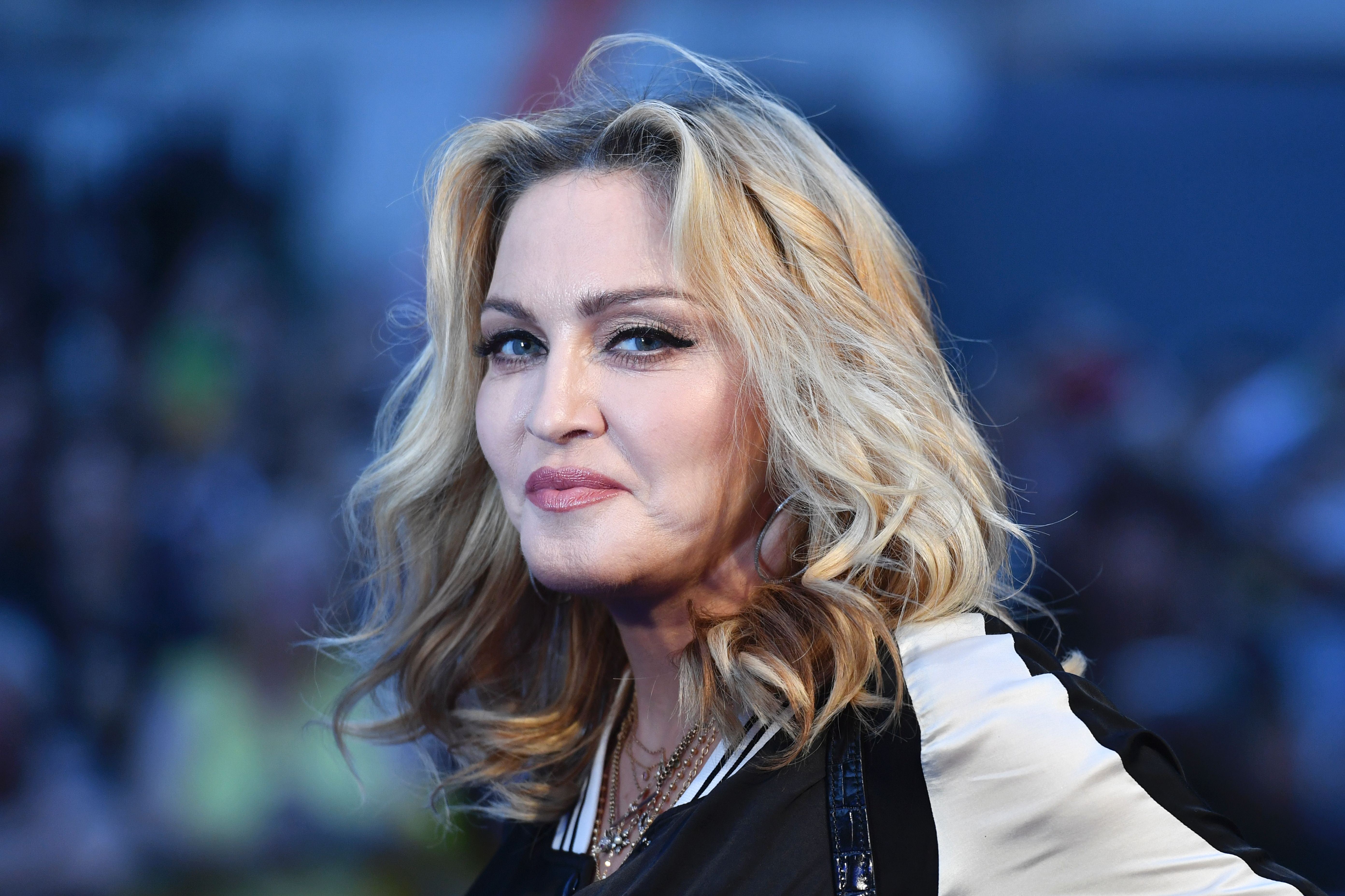 Madonna is photographed in London in 2016.