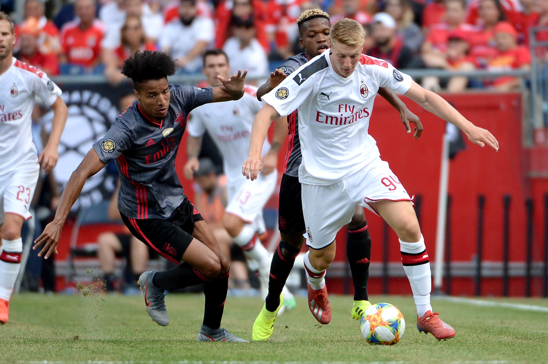 AC Milan v Benfica - 2019 International Champions Cup