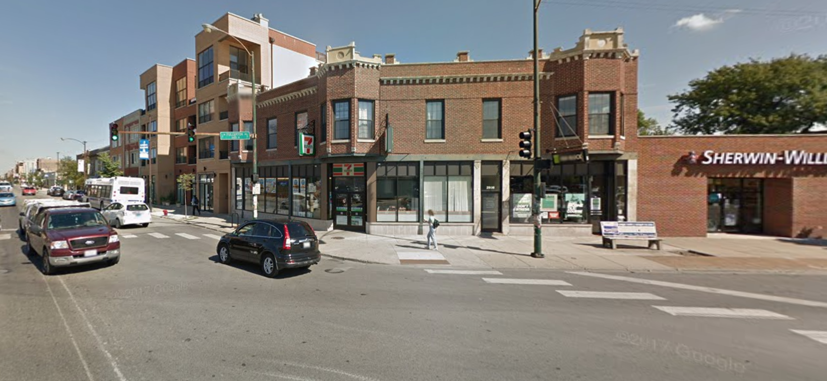 A series of robberies have been reported at Northwest Side businesses since April 2020, including one in the 2400 block of North Milwaukee Avenue.
