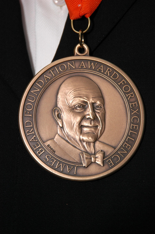 James Beard Awards medal
