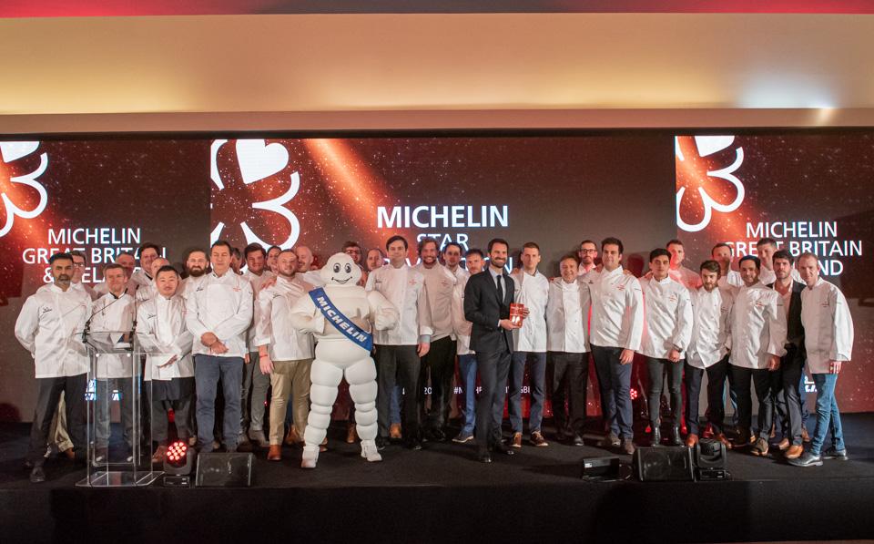 Michelin Guide's 2020 London star ceremony