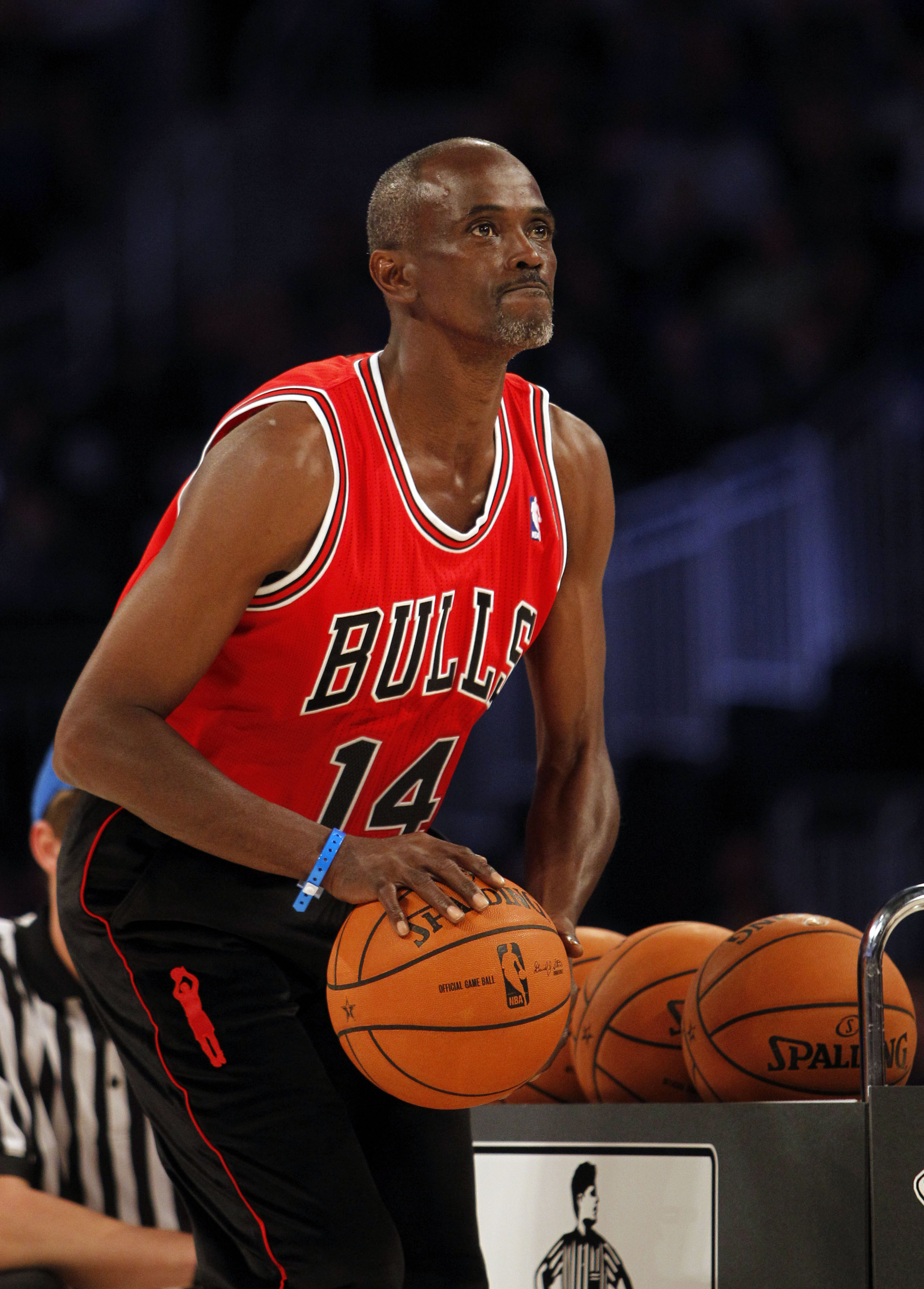 """Ex-Bull Craig Hodges, shown in a 2012 file photo, took issue with Michael Jordan's comments about what was known as the Bulls' """"traveling cocaine circus."""""""