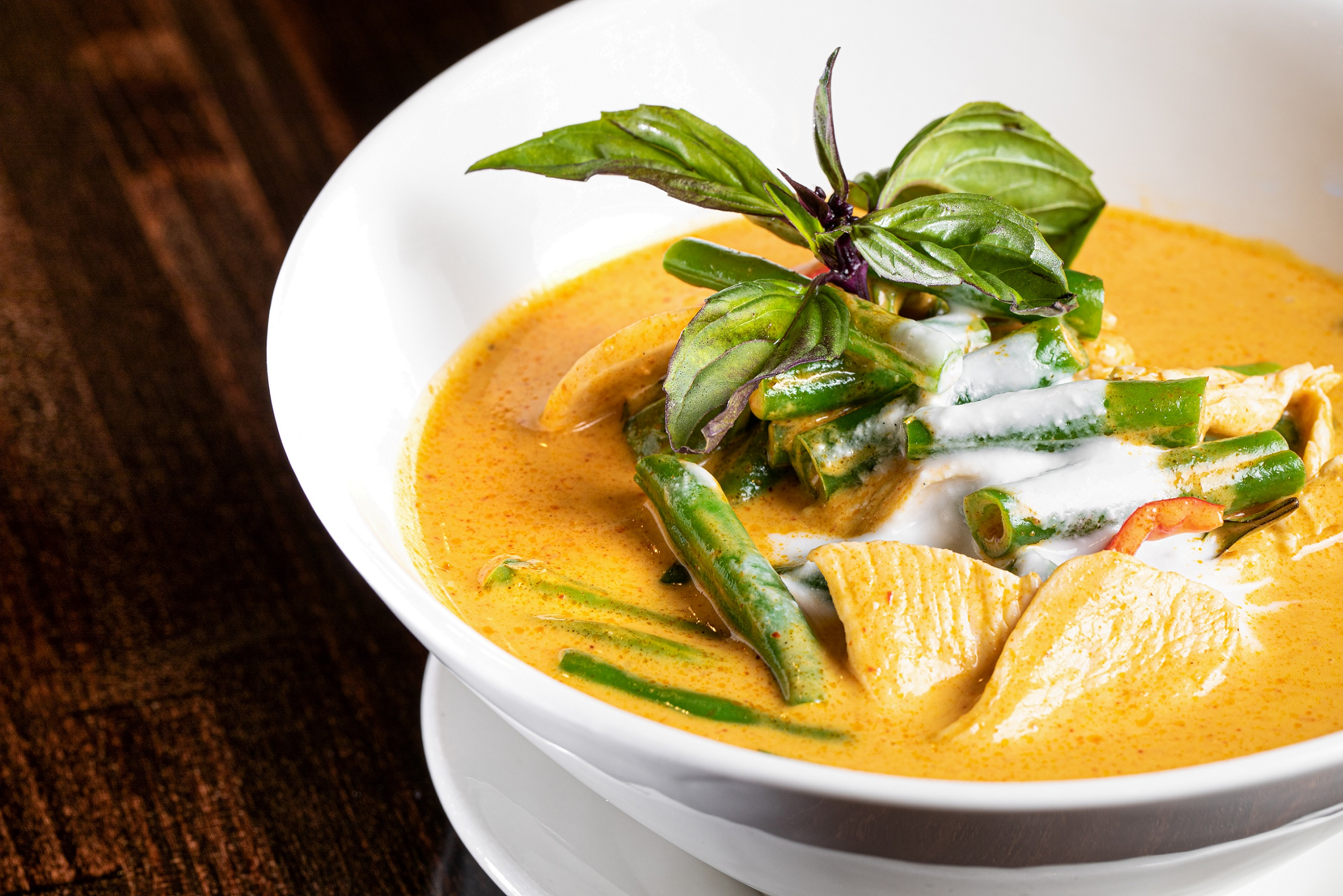 Pin Kaow Panang chicken curry