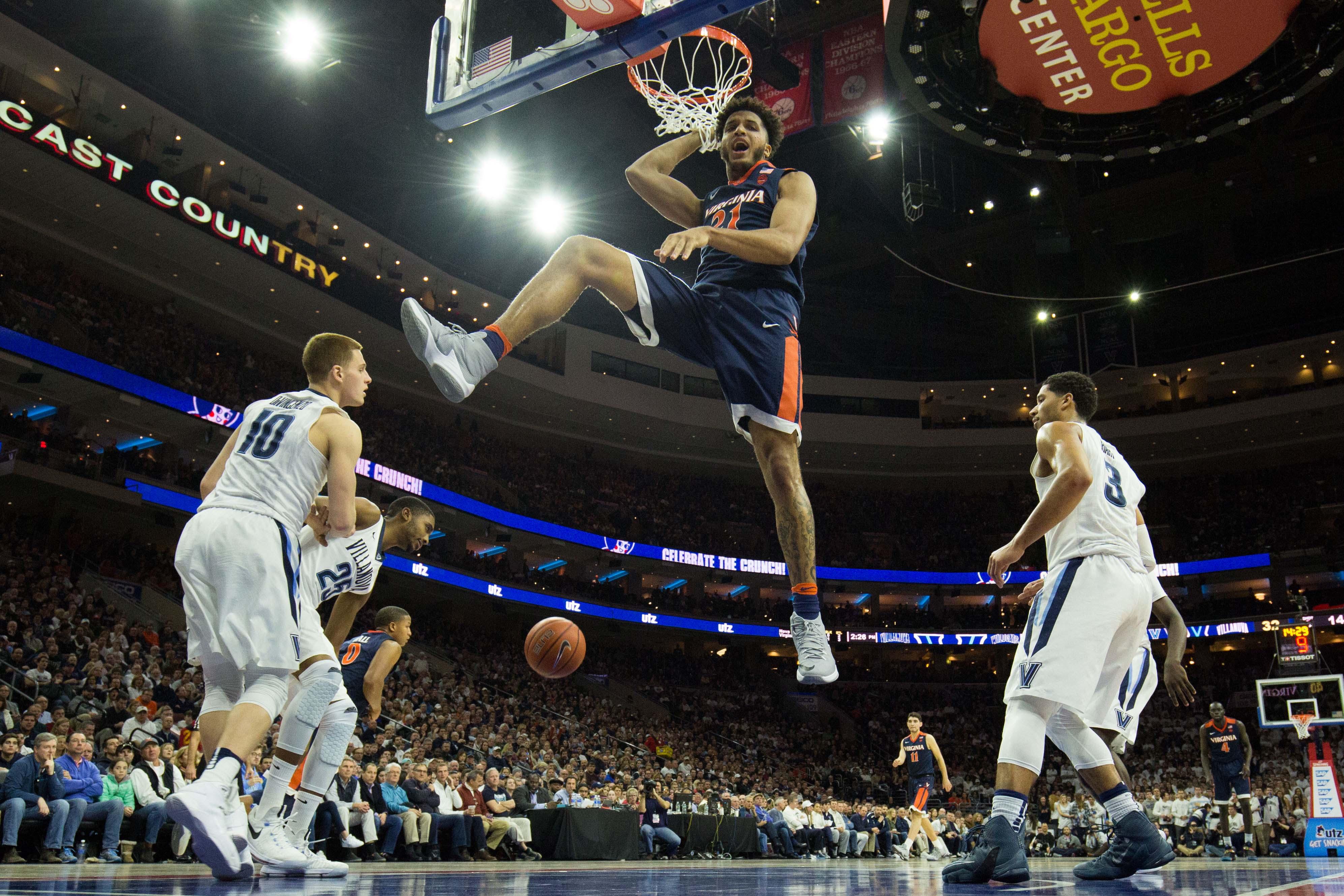 NCAA Basketball: Virginia at Villanova
