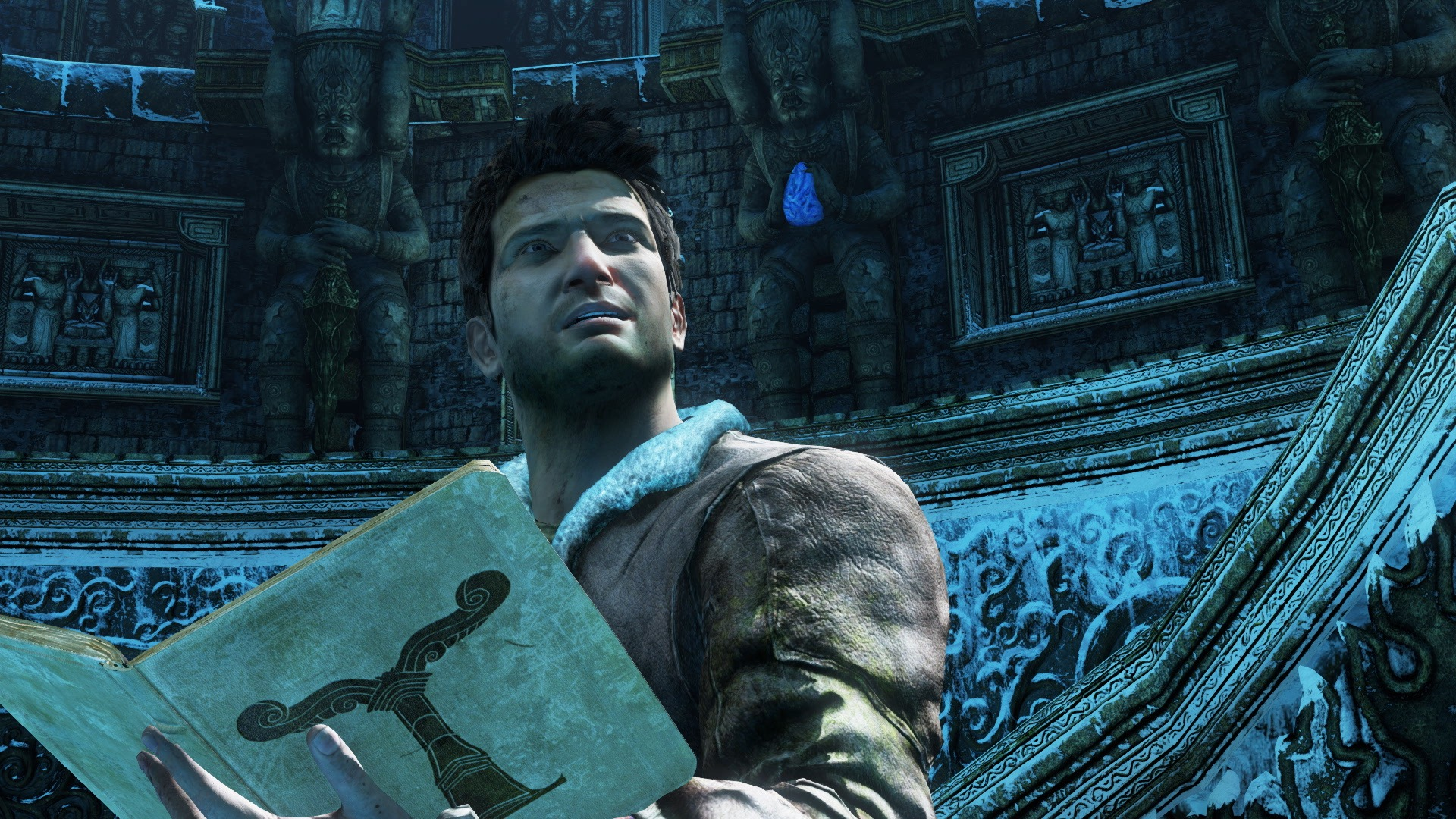 Nathan Drake in Uncharted 2: Amont Thieves