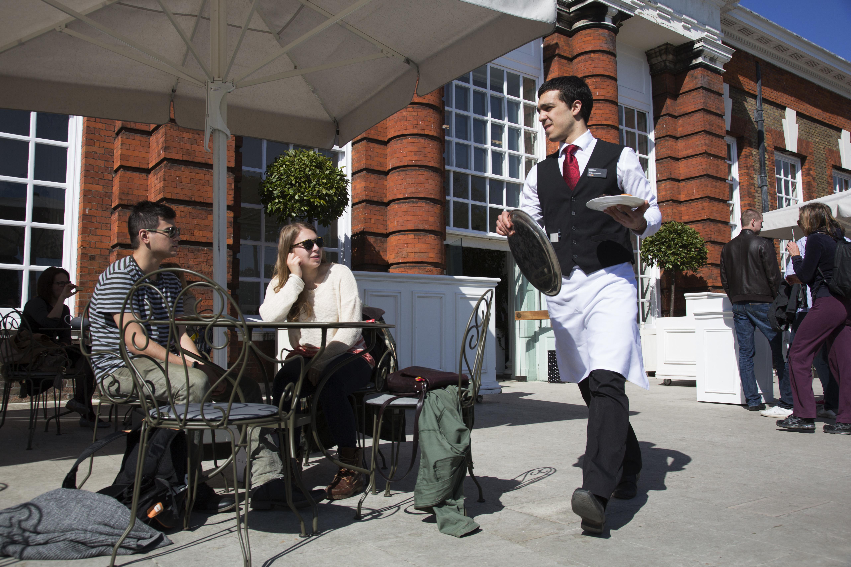 UK - West London - Orangery restaurant at Kensington Palace and Gardens