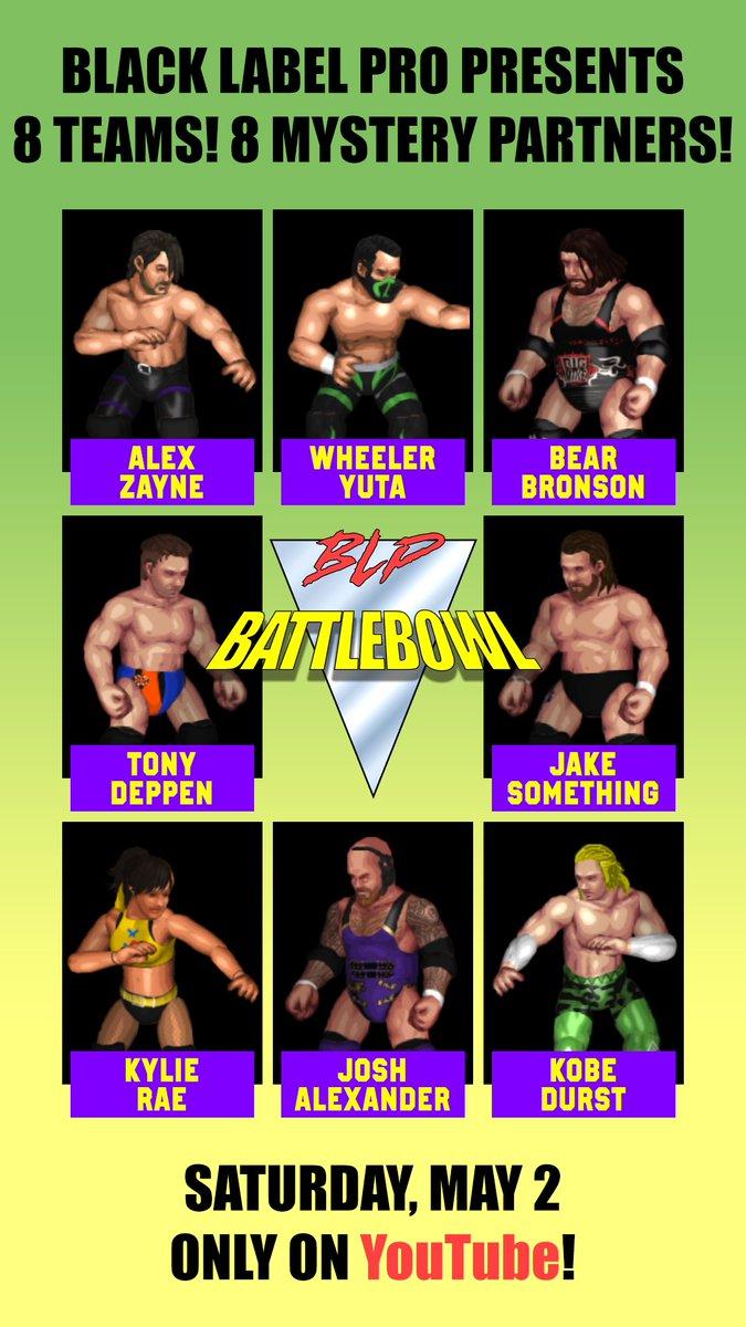 Poster for Black Label Pro BattleBowl