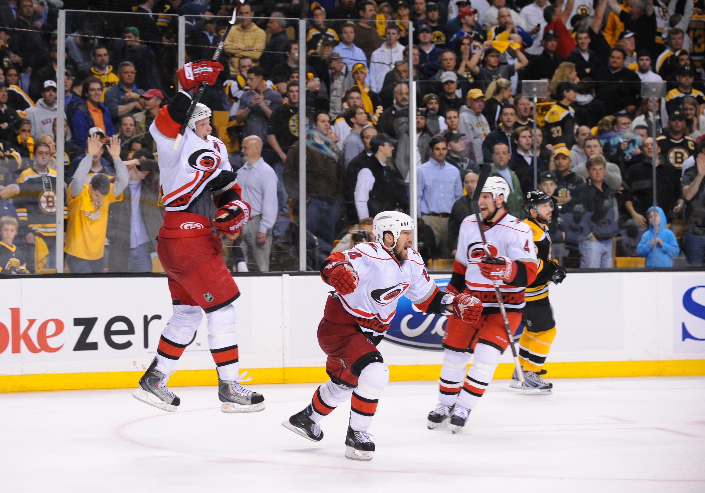 Carolina Hurricanes v Boston Bruins - Game Seven