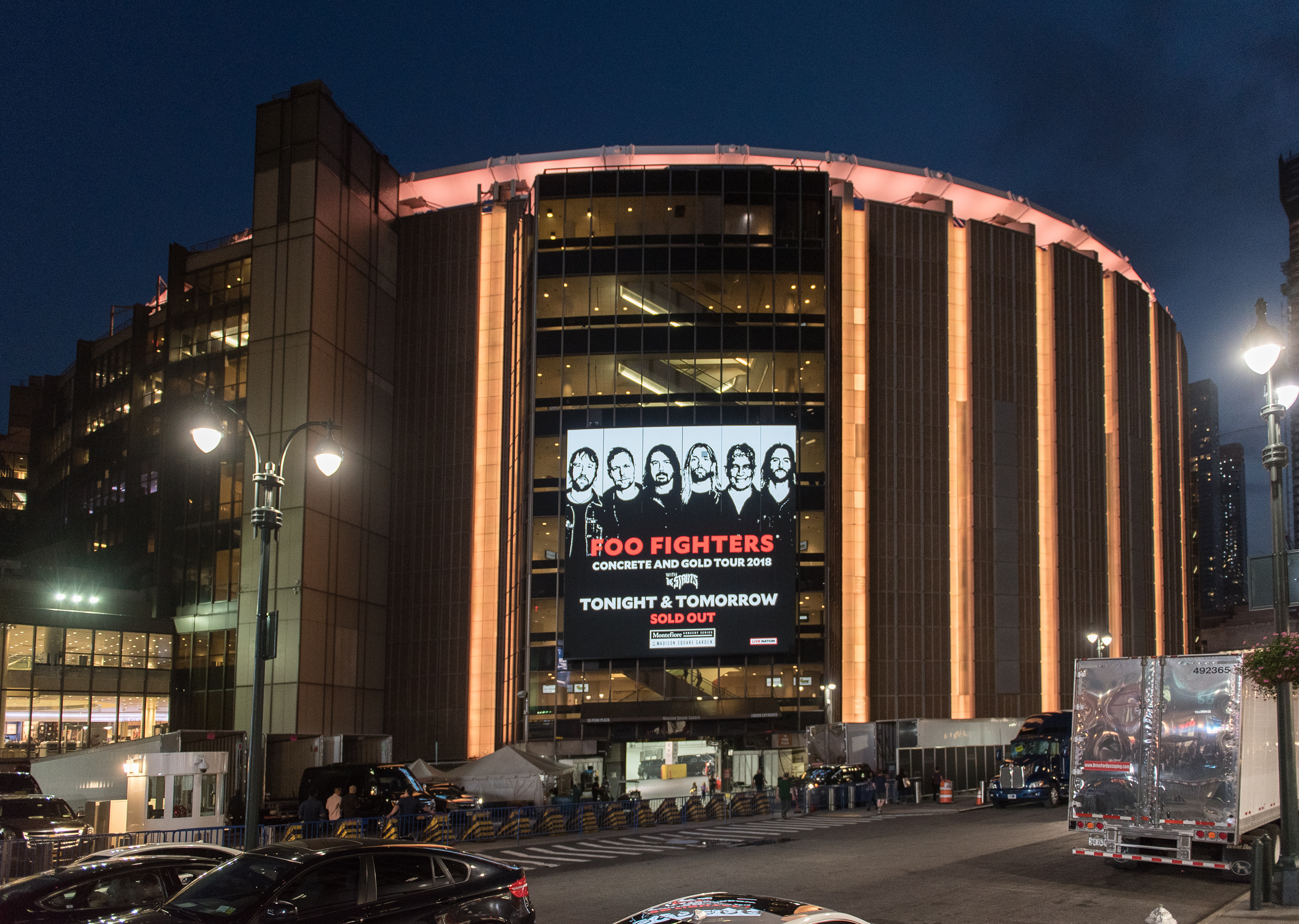 Foo Fighters And The Struts In Concert - New York City