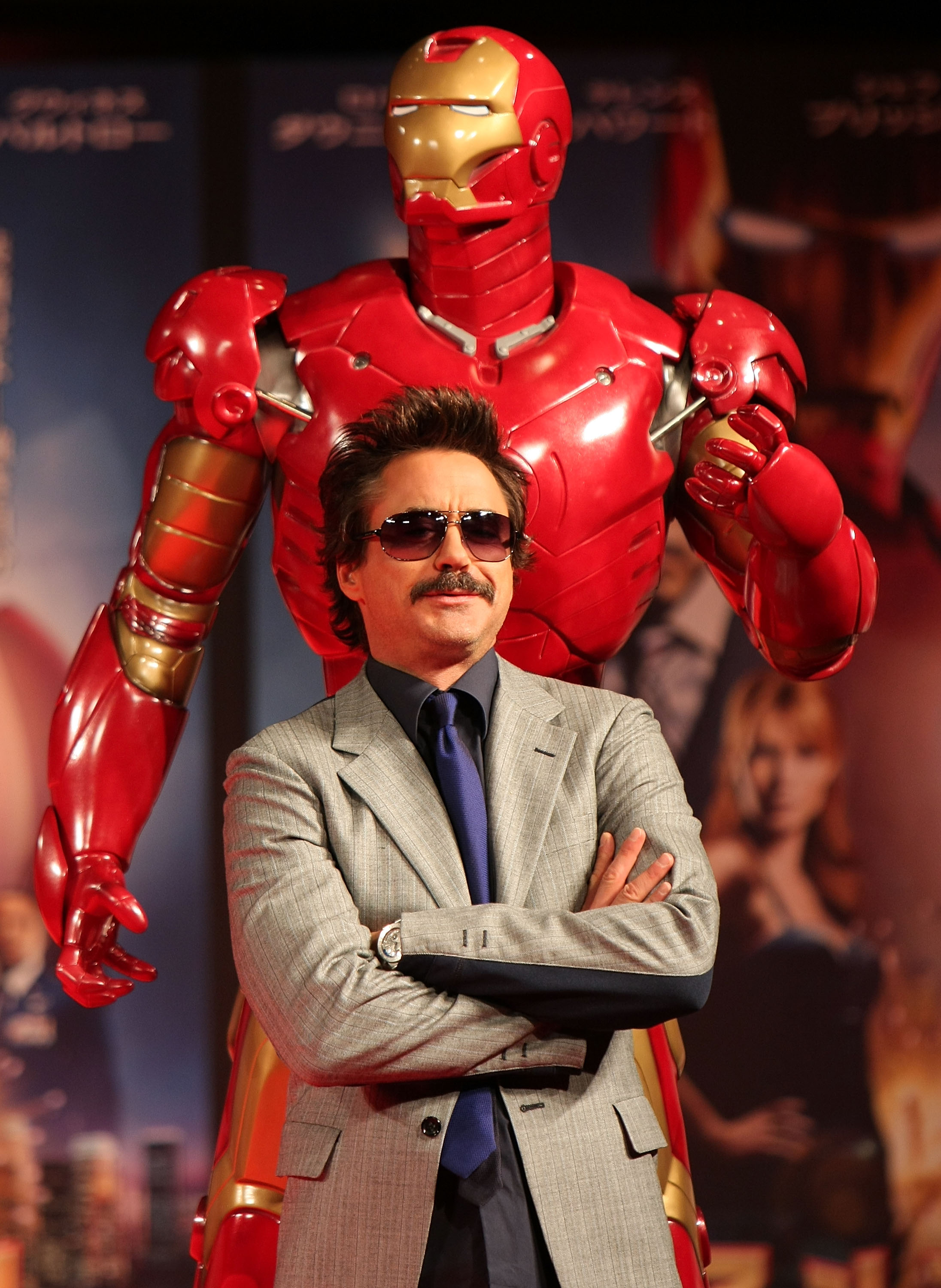 'Iron Man' Press Conference