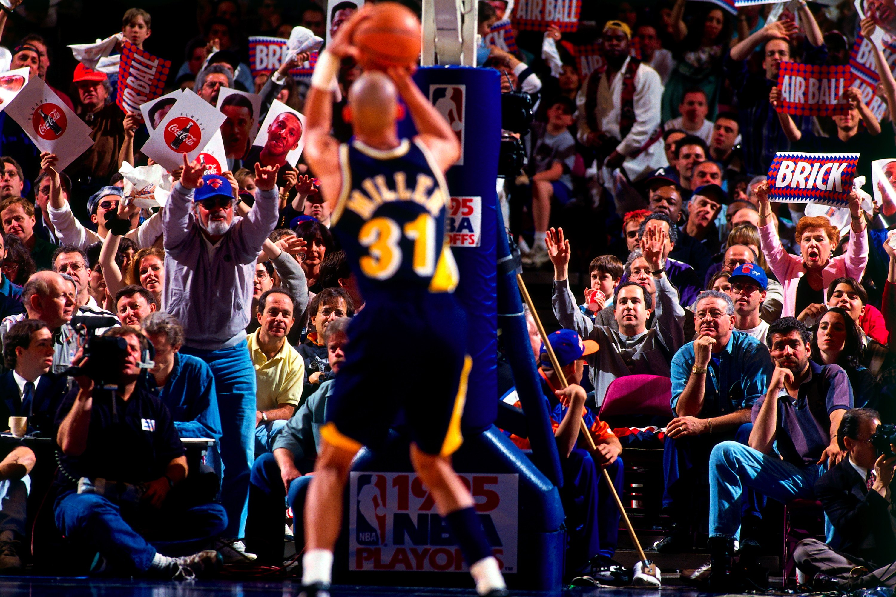 Indiana Pacers v New York Knicks, Game 1