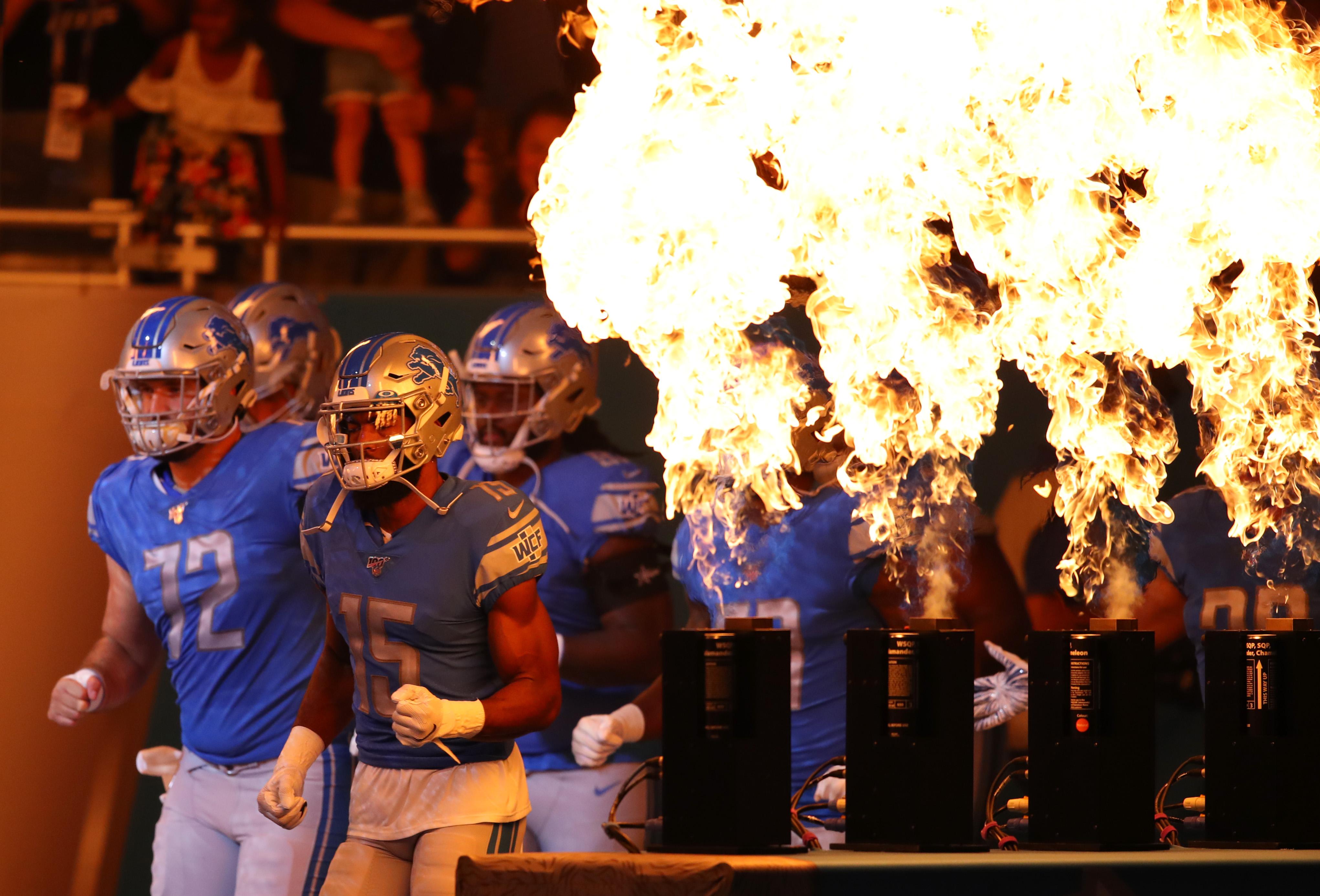 New England Patriots v Detroit Lions