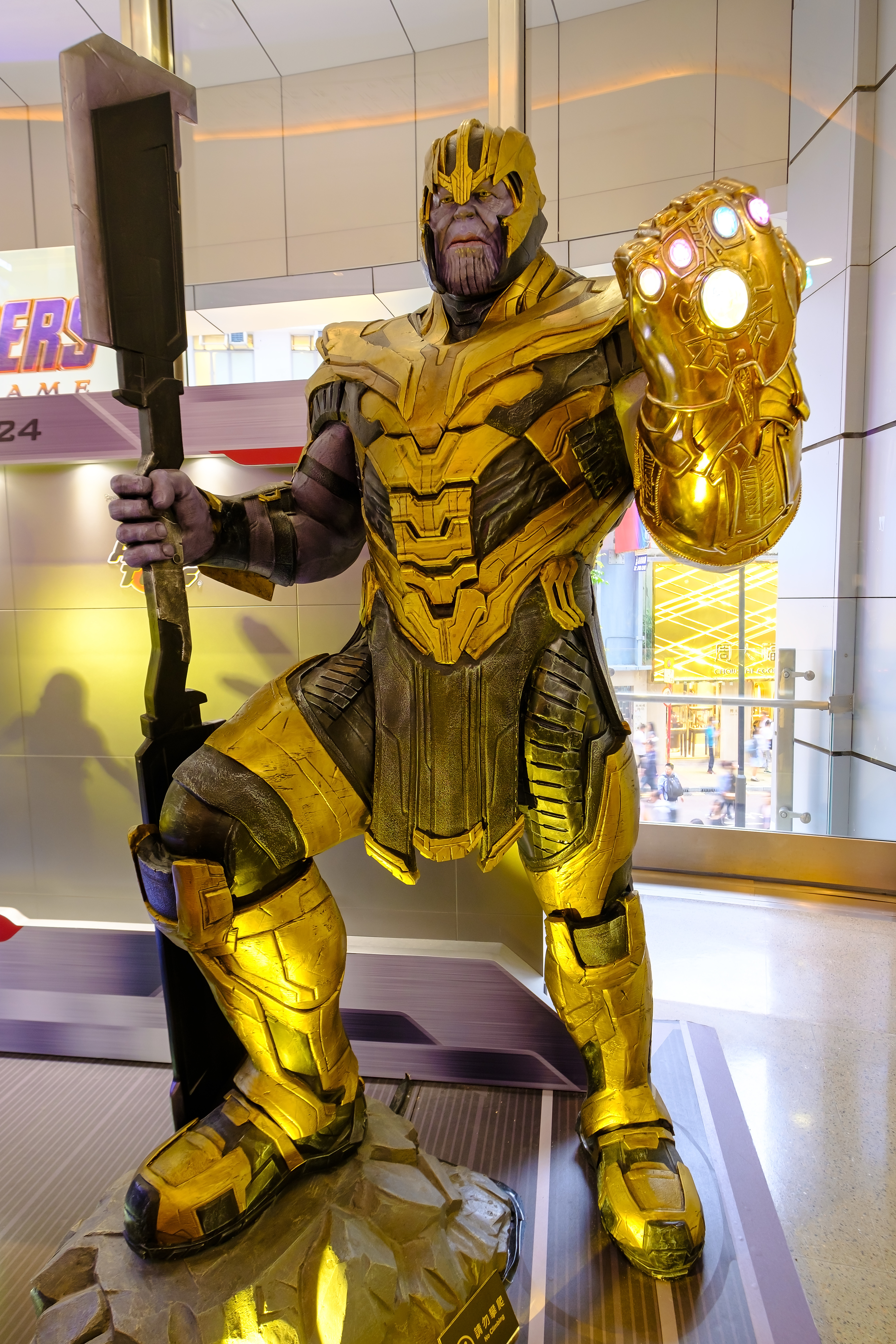 Thanos is a fictional character seen appearing in American...