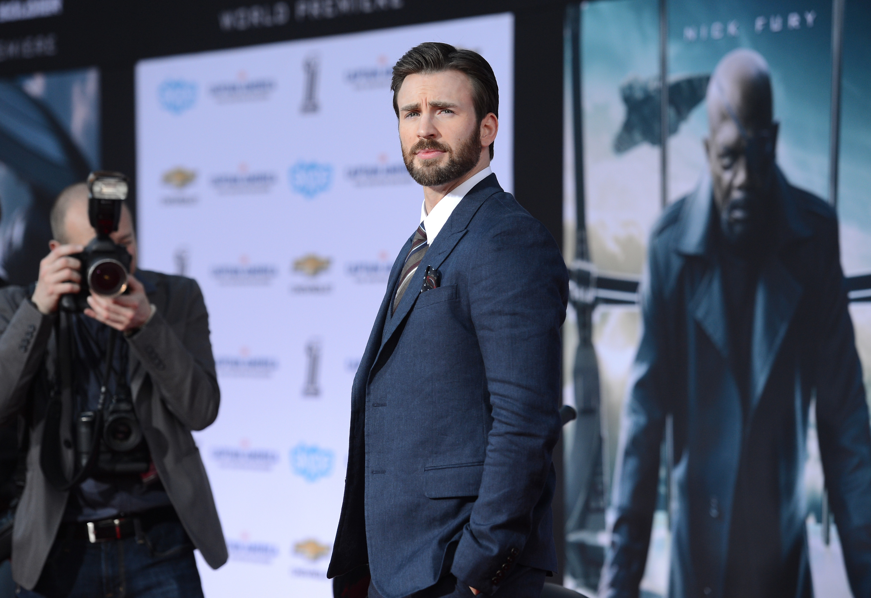 """Premiere Of Marvel's """"Captain America: The Winter Soldier"""" - Arrivals"""