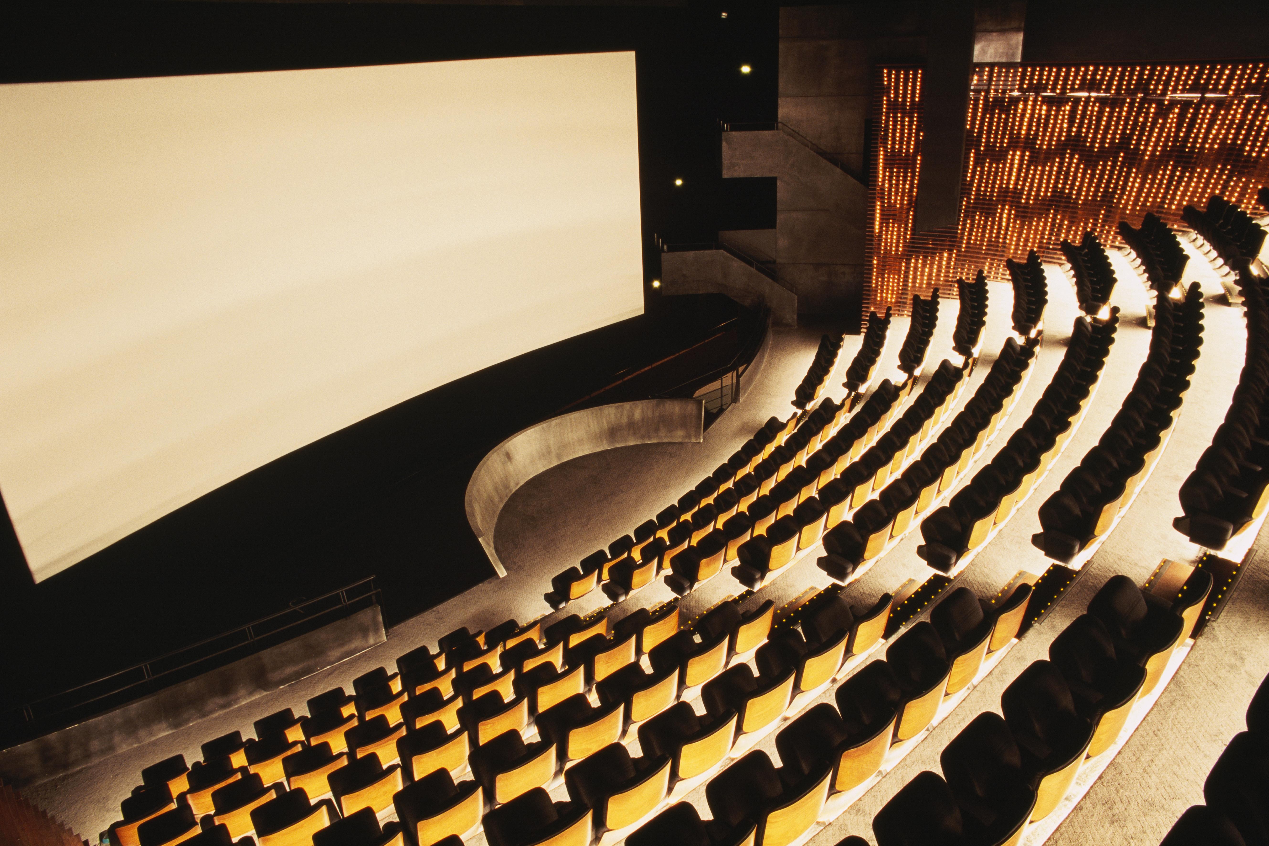 Illustration - Cinema Interior