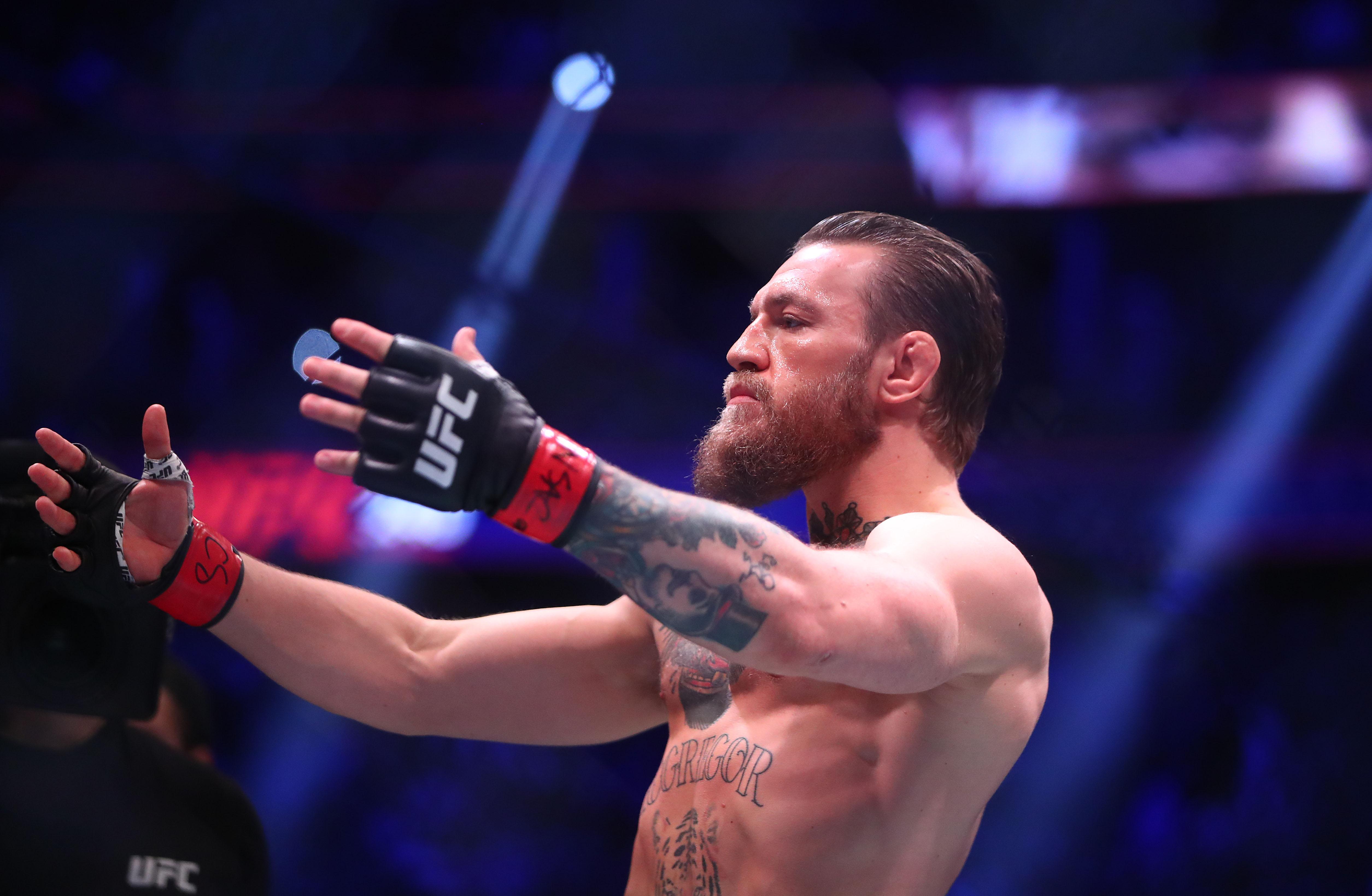 MMA: UFC 246-McGregor vs Cerrone