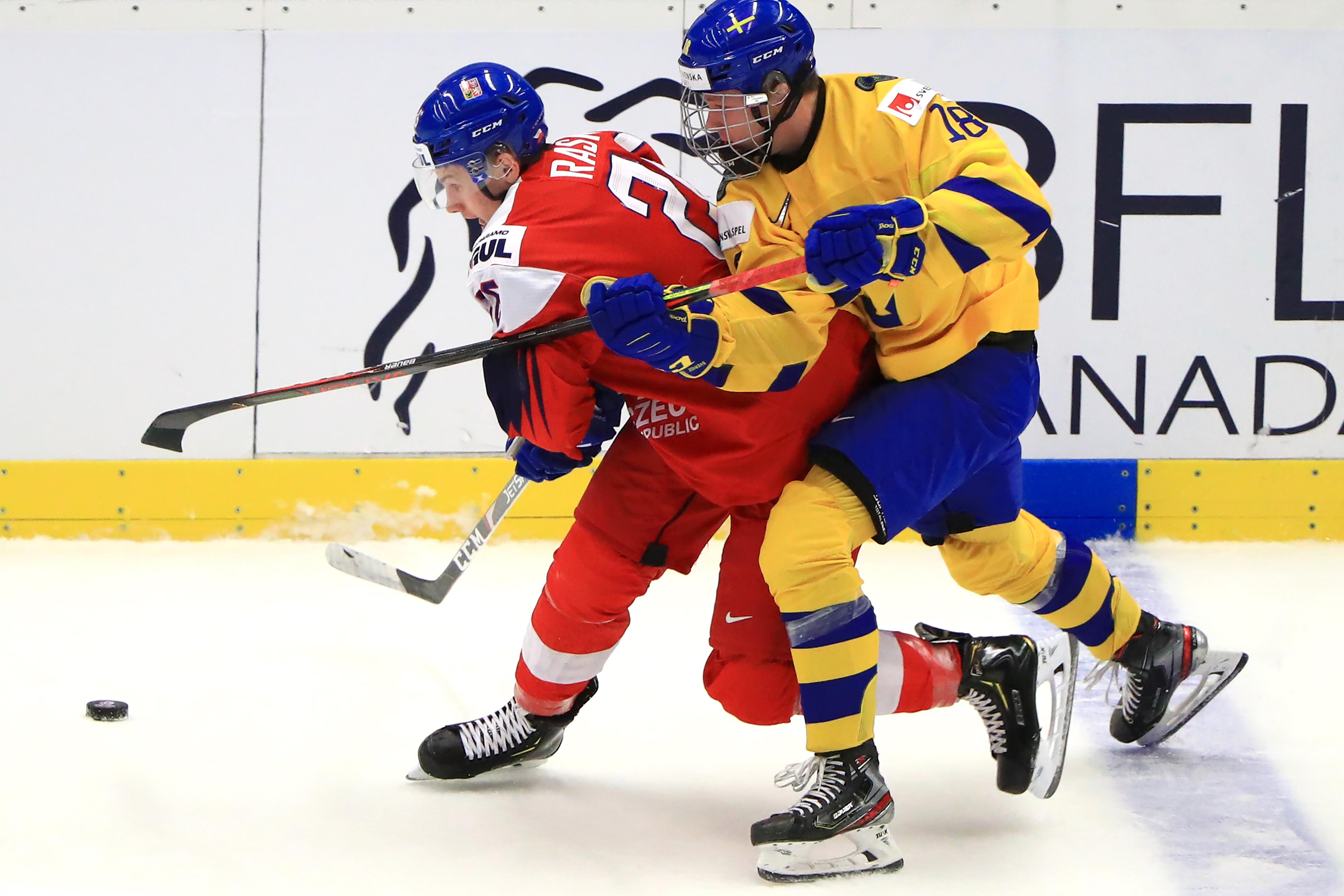 2020 IIHF World U20 Championship, quarter-finals: Sweden vs Czech Republic