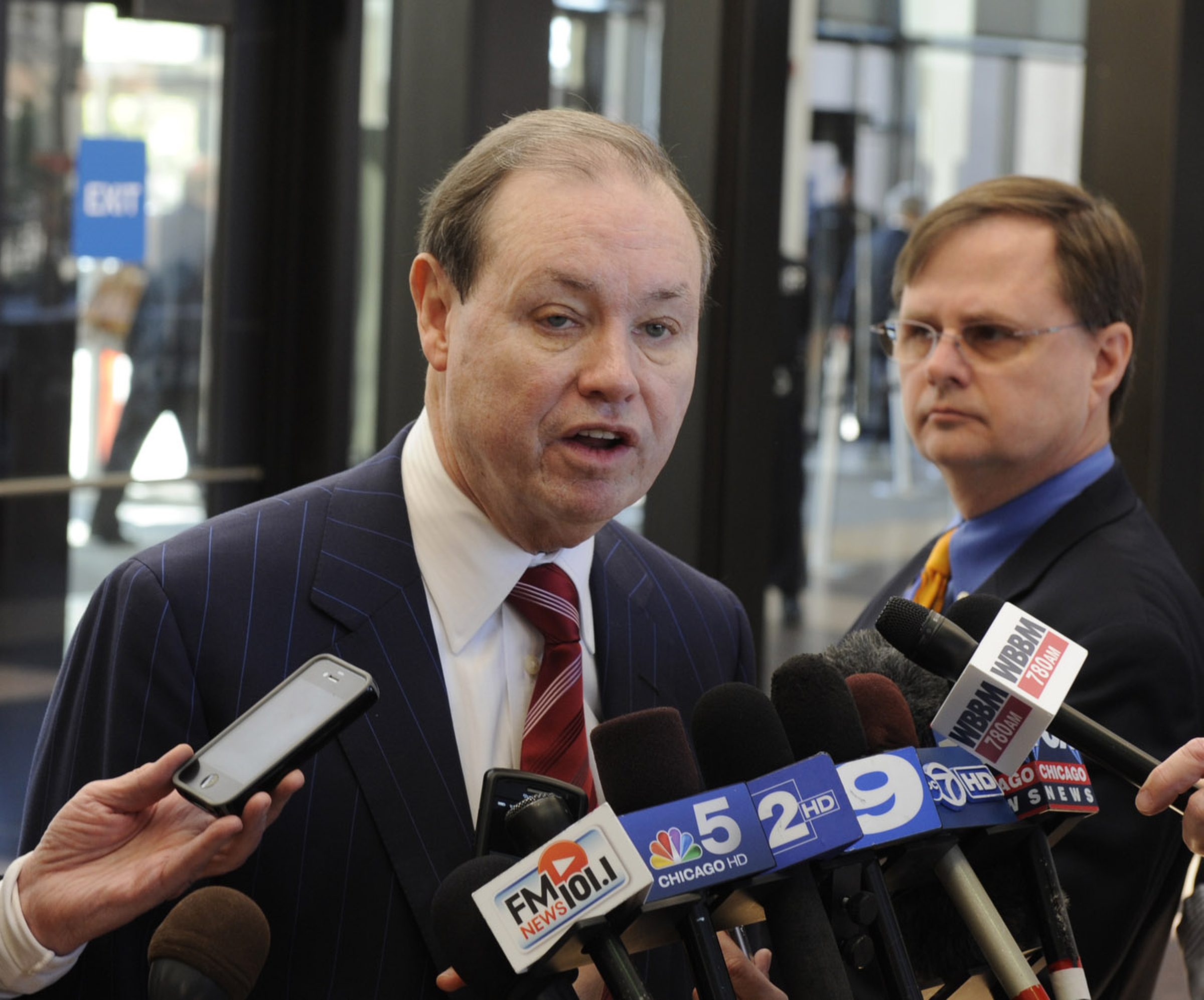 Attorney Dan Webb named special prosecutor to investigate the death of David Koschman at Cook County Criminal Courts, Monday, April 23, 2012 . | John H. White~Sun-Times.