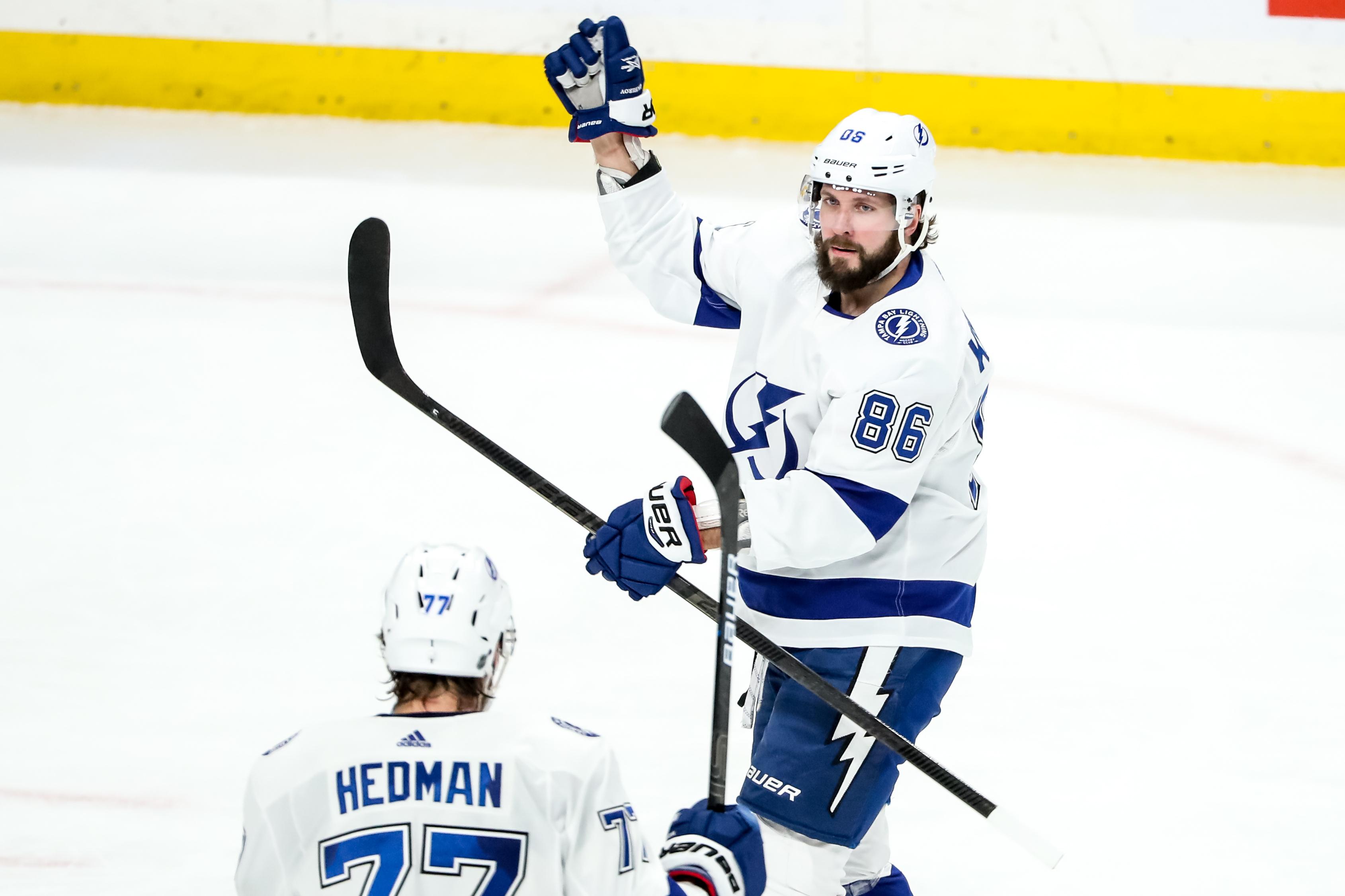 NHL: Tampa Bay Lightning at Minnesota Wild