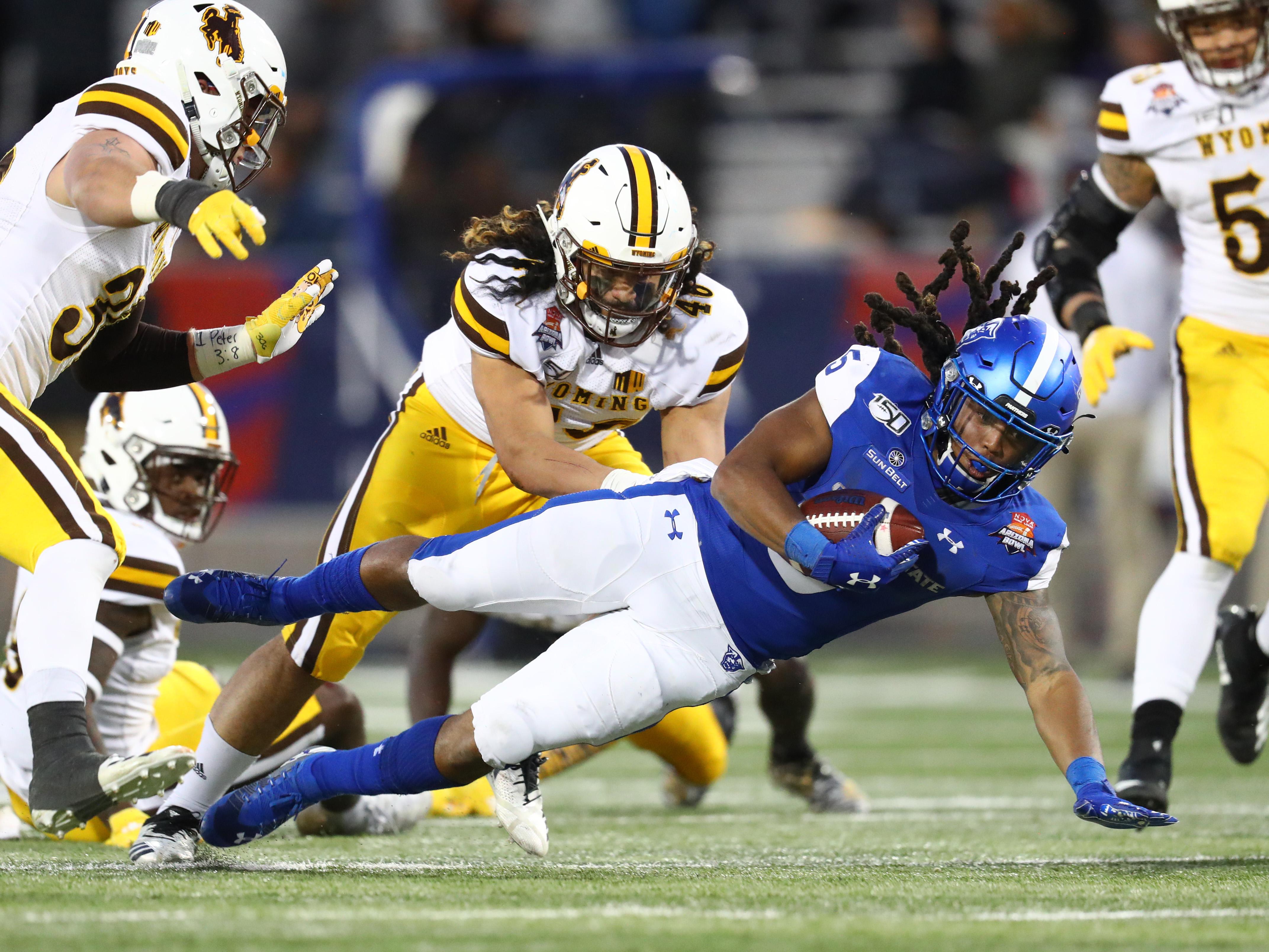 NCAA Football: Arizona Bowl-Wyoming vs Georgia State