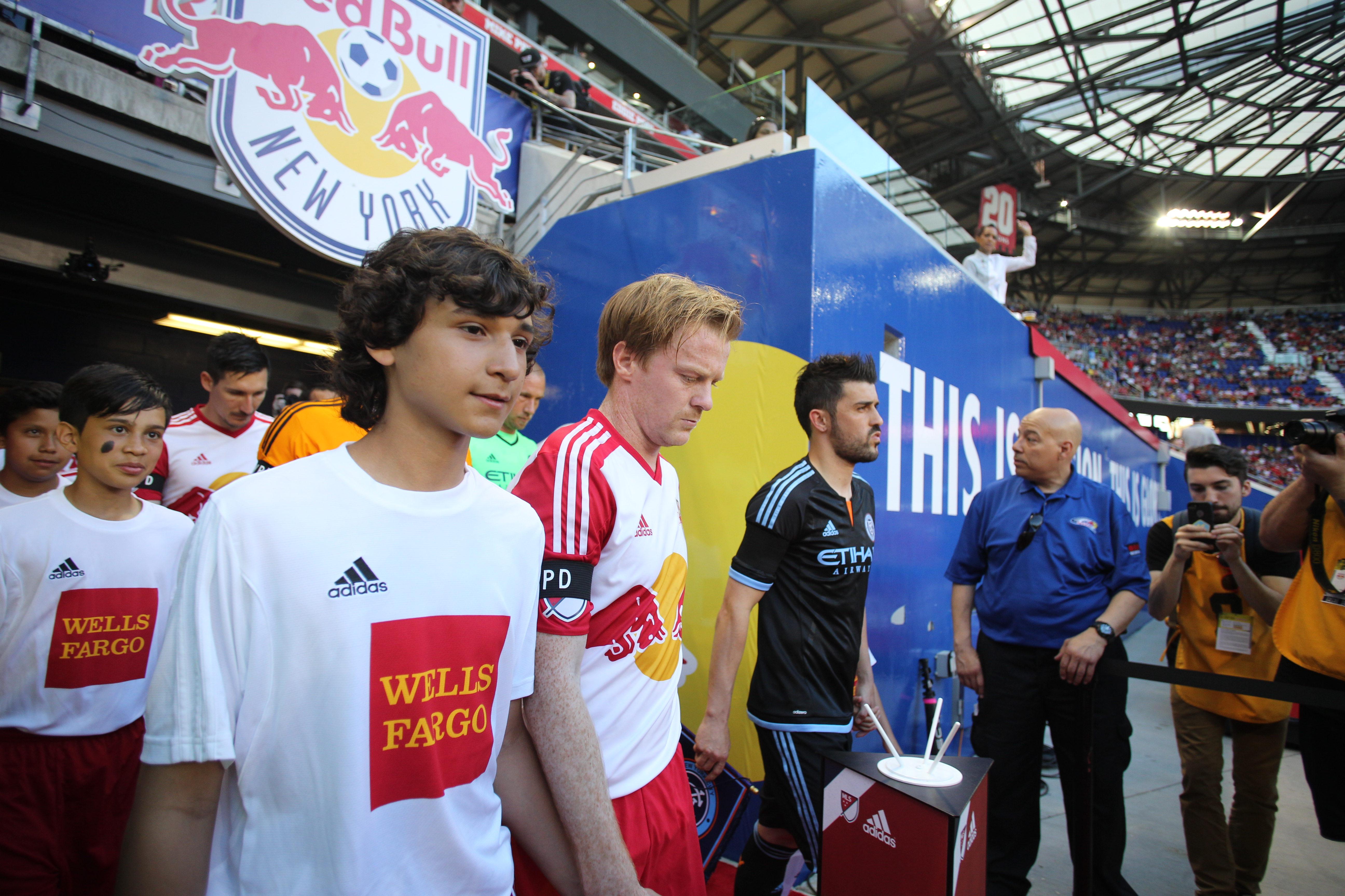 MLS. New York Red Bulls Vs New York City FC, Major League Soccer. Red Bull Arena, Harrison, New Jers