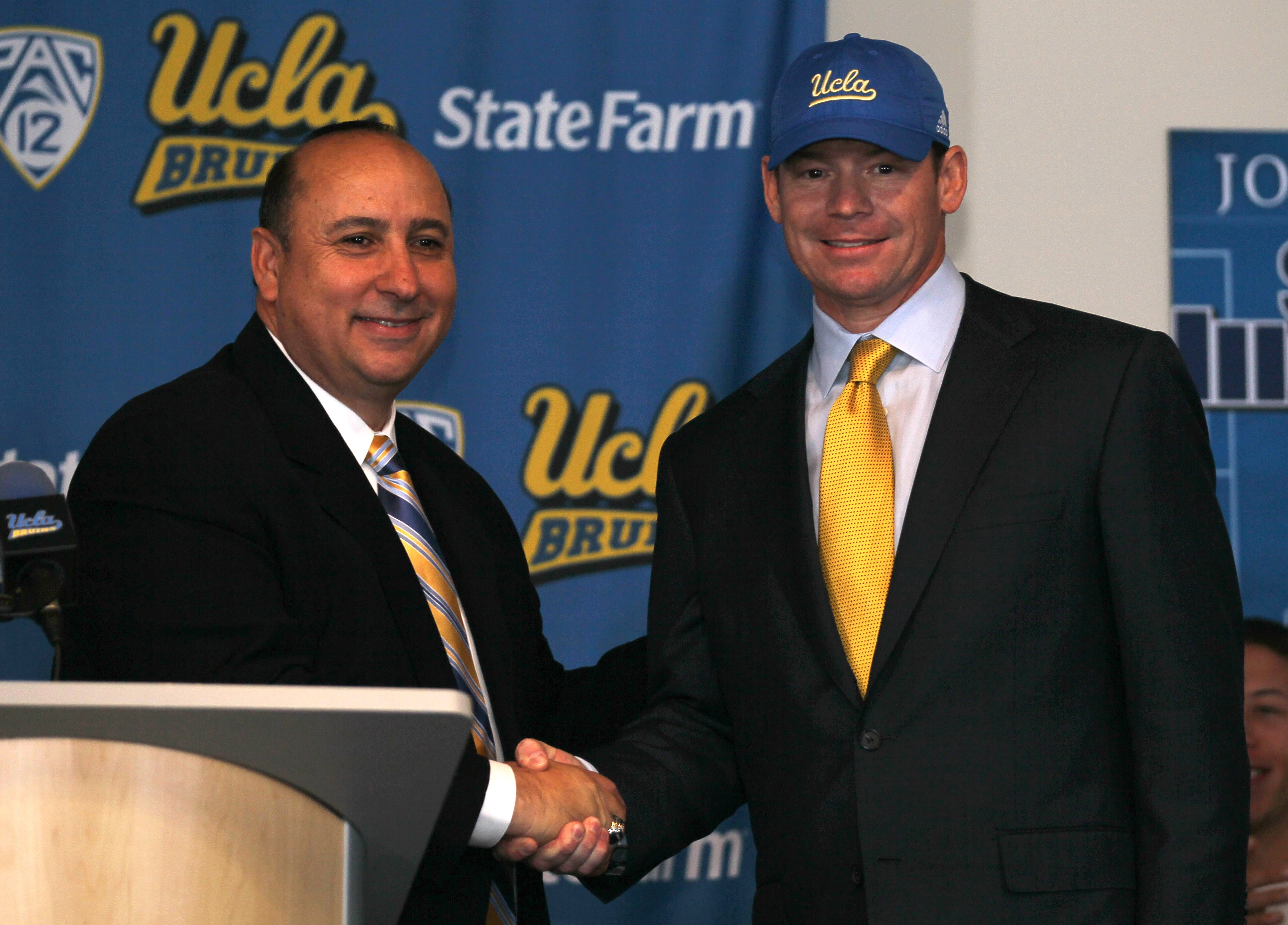 UCLA Introduces Jim Mora