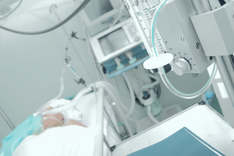 An example of a medical ventilator.