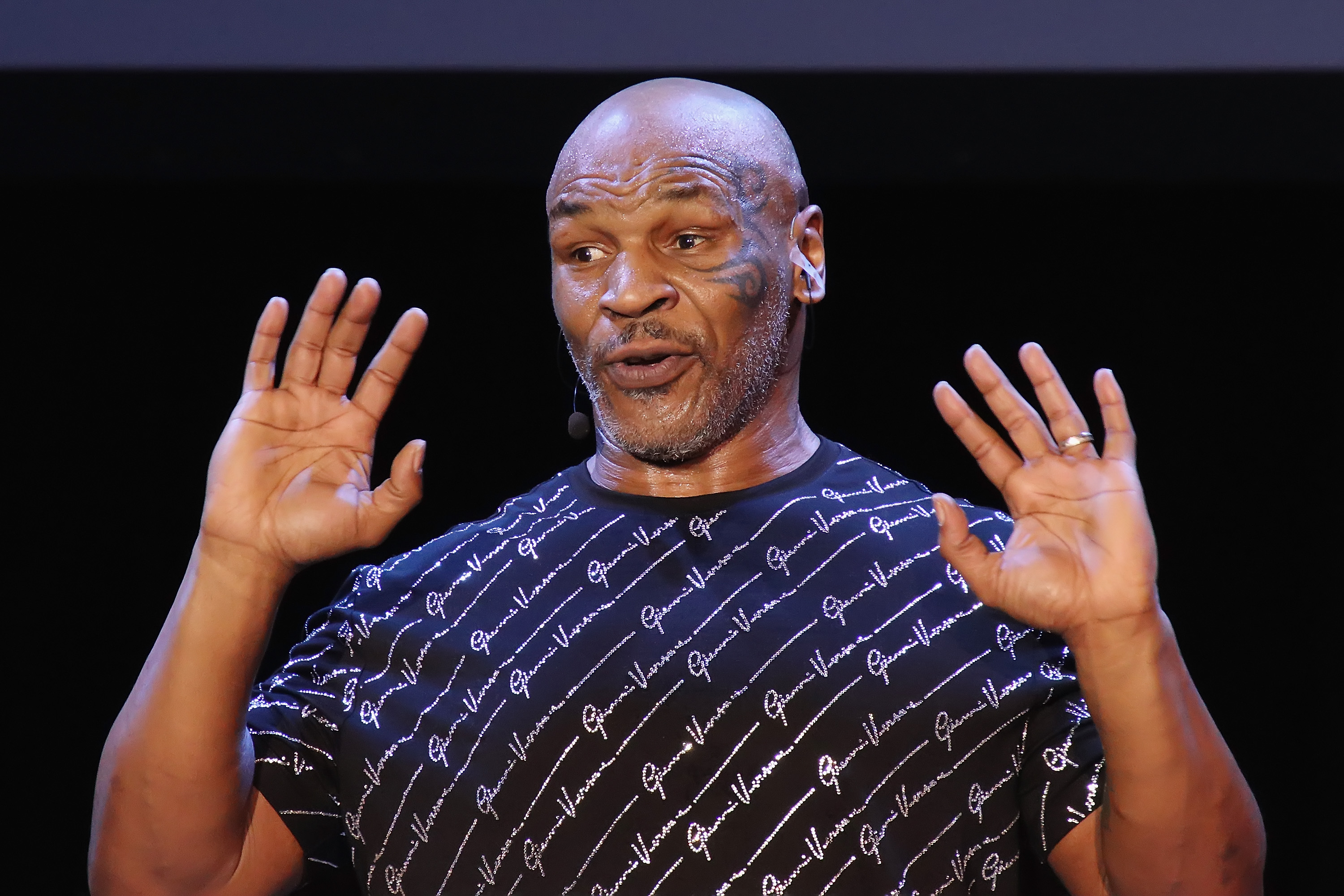 """Mike Tyson Performs His One Man Show """"Undisputed Truth"""""""