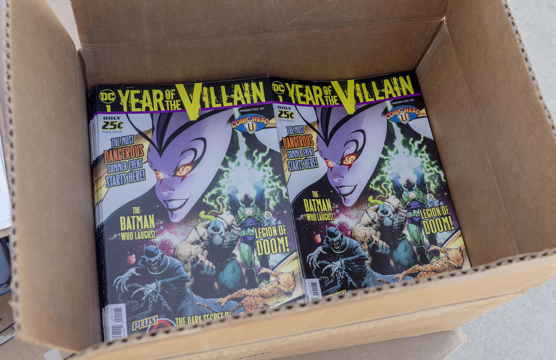 Comic Store Owner Donates Comics