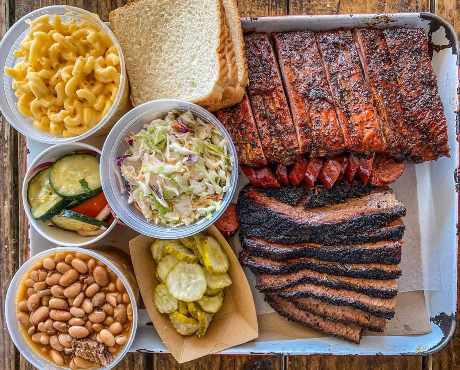 A barbecue tray from Stiles Switch